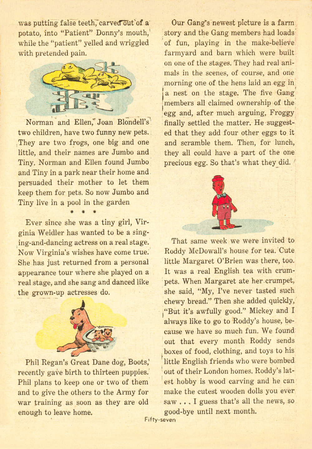 Walt Disney's Comics and Stories issue 38 - Page 59