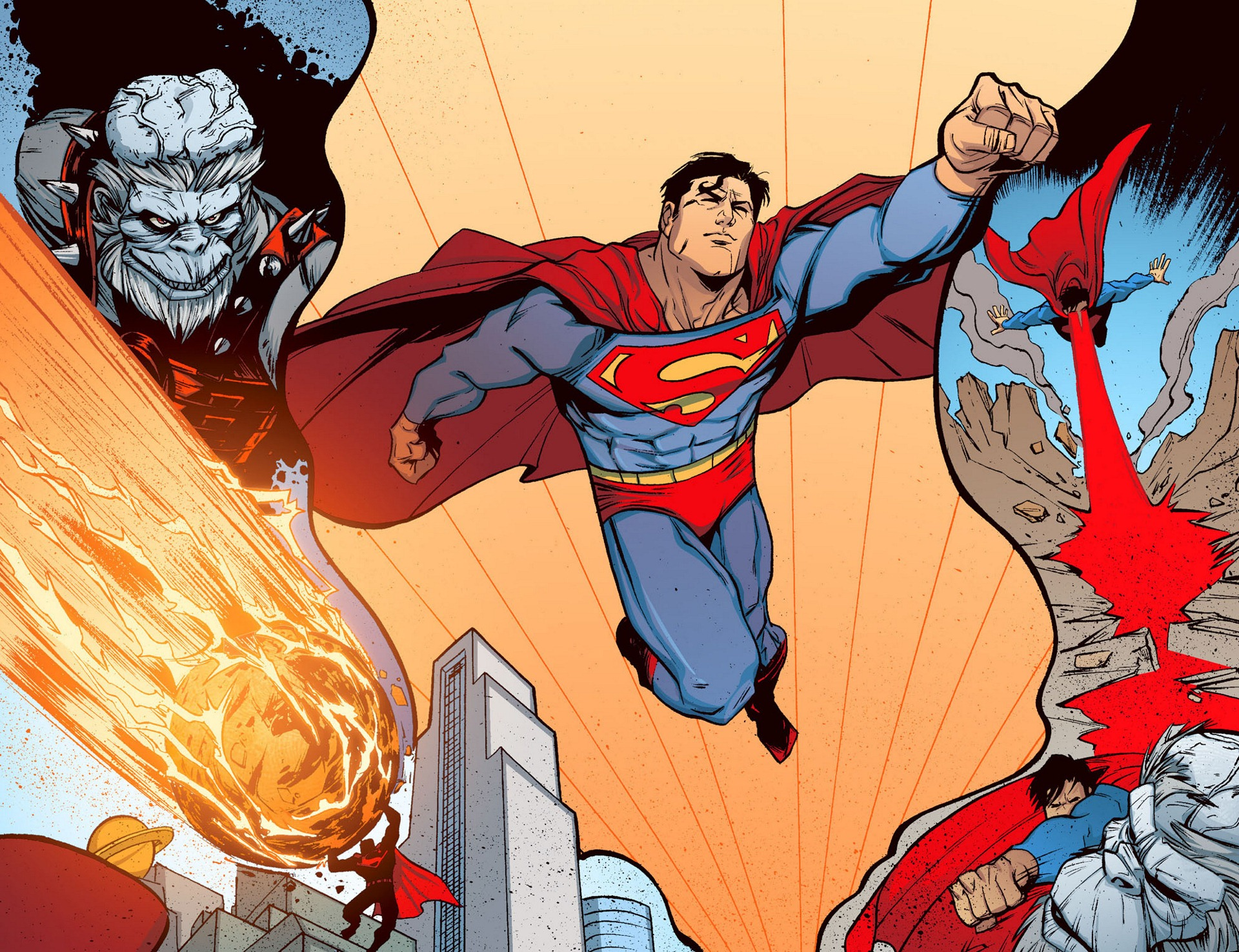 Read online Adventures of Superman [I] comic -  Issue #5 - 15