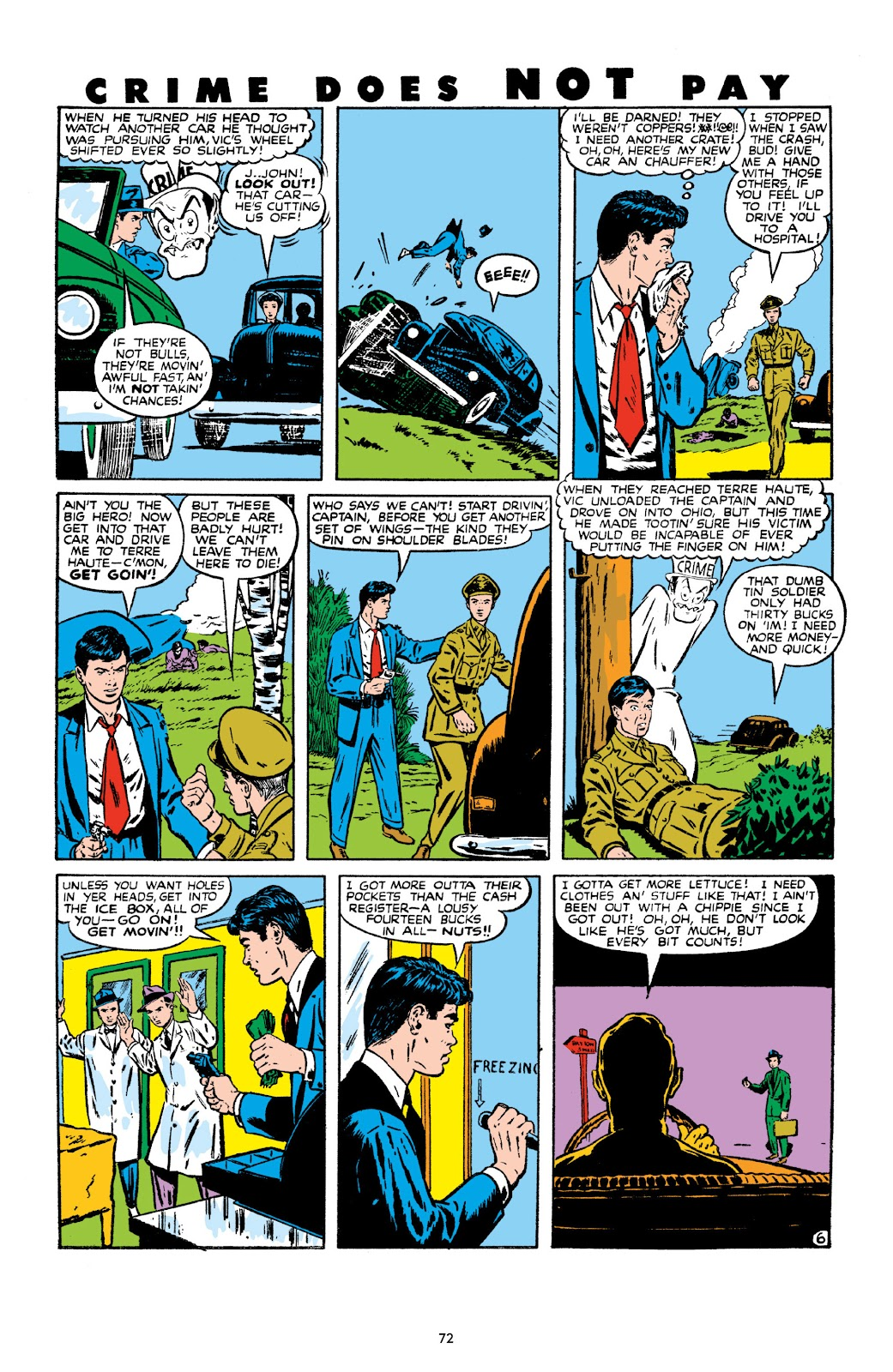 Read online Crime Does Not Pay Archives comic -  Issue # TPB 10 (Part 1) - 74