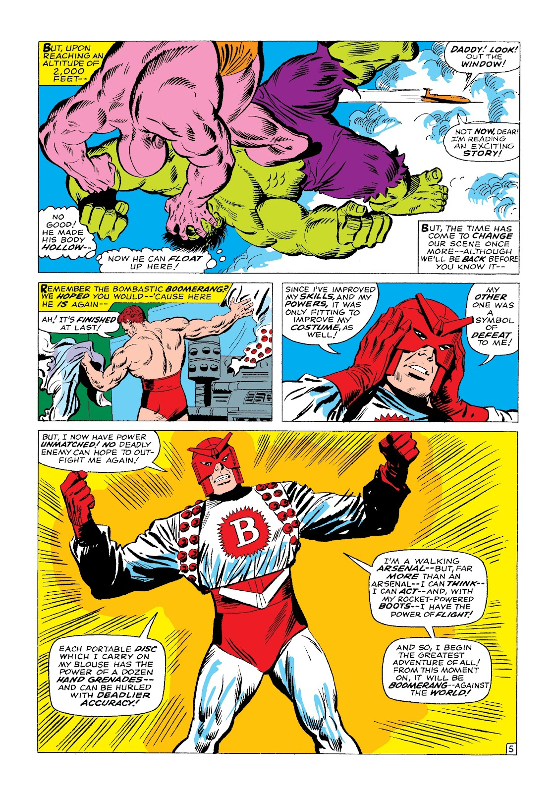 Read online Marvel Masterworks: The Incredible Hulk comic -  Issue # TPB 3 (Part 1) - 89