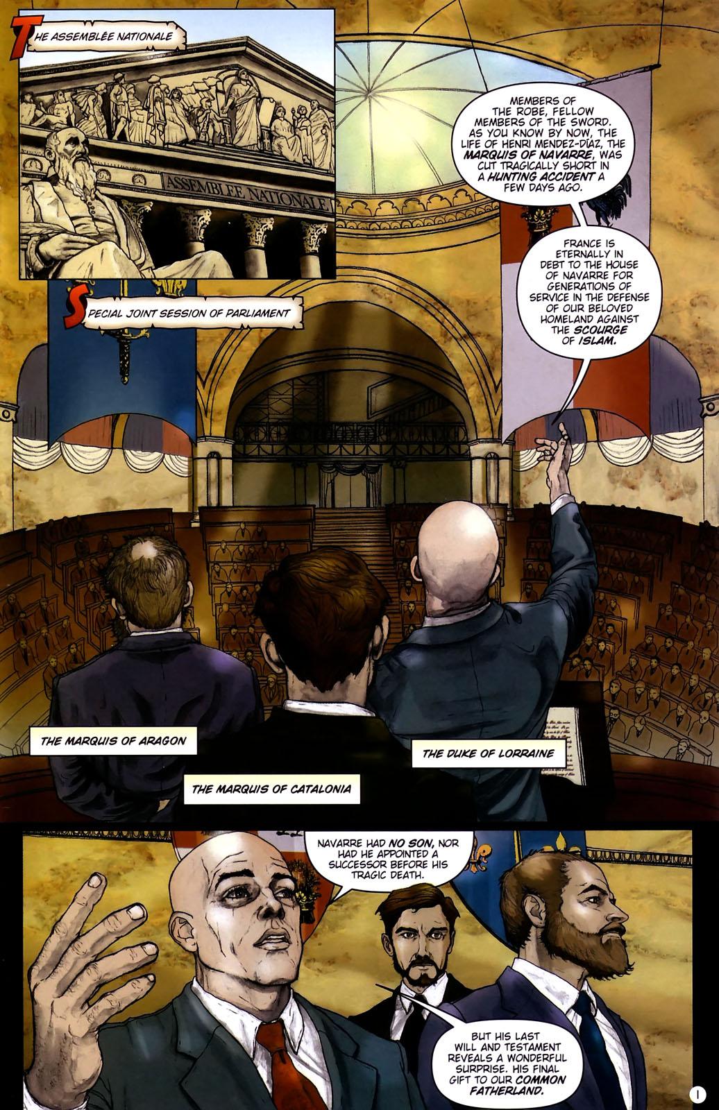 Read online Rex Mundi comic -  Issue #14 - 5