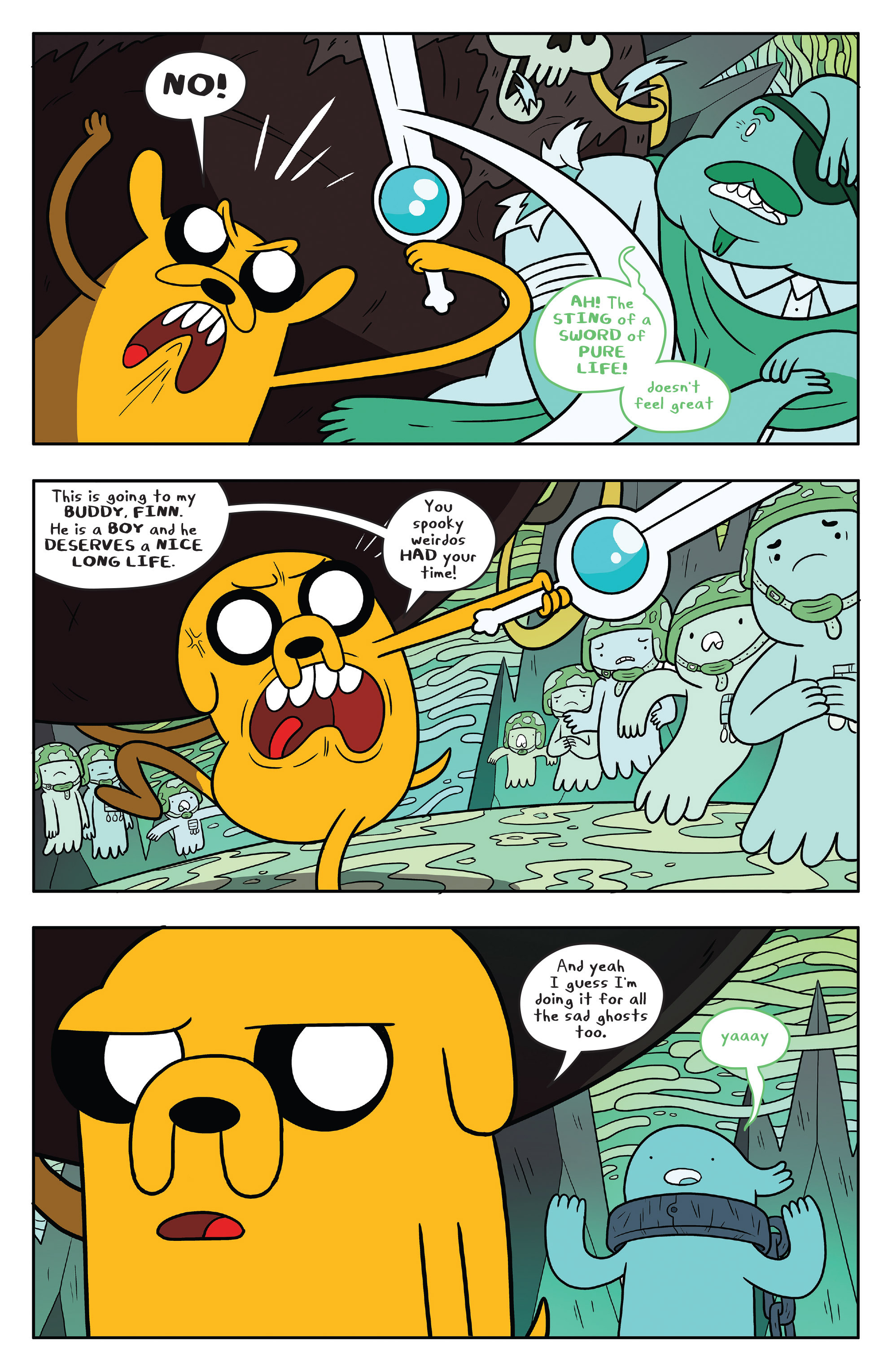 Read online Adventure Time comic -  Issue #53 - 16