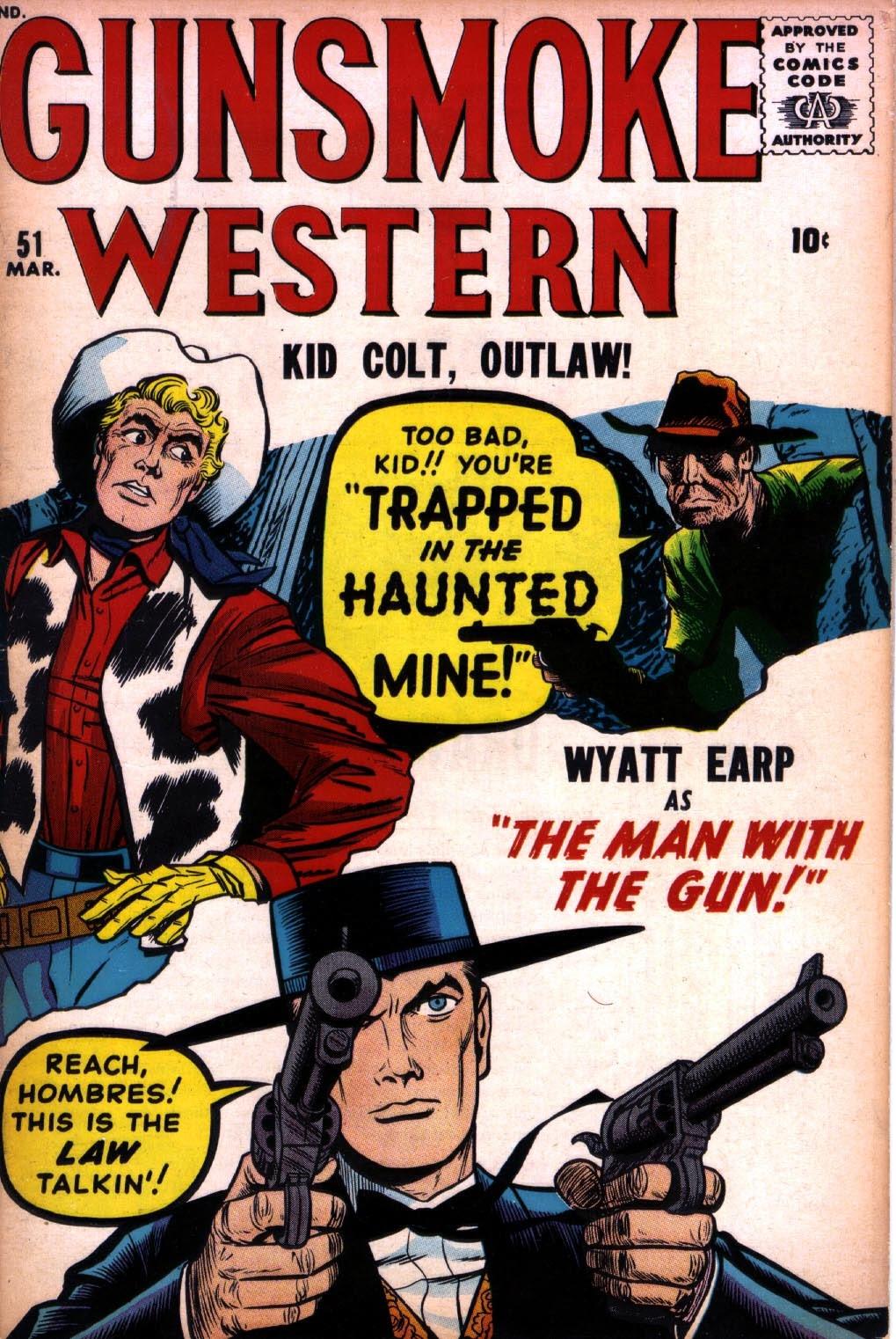 Gunsmoke Western issue 51 - Page 1