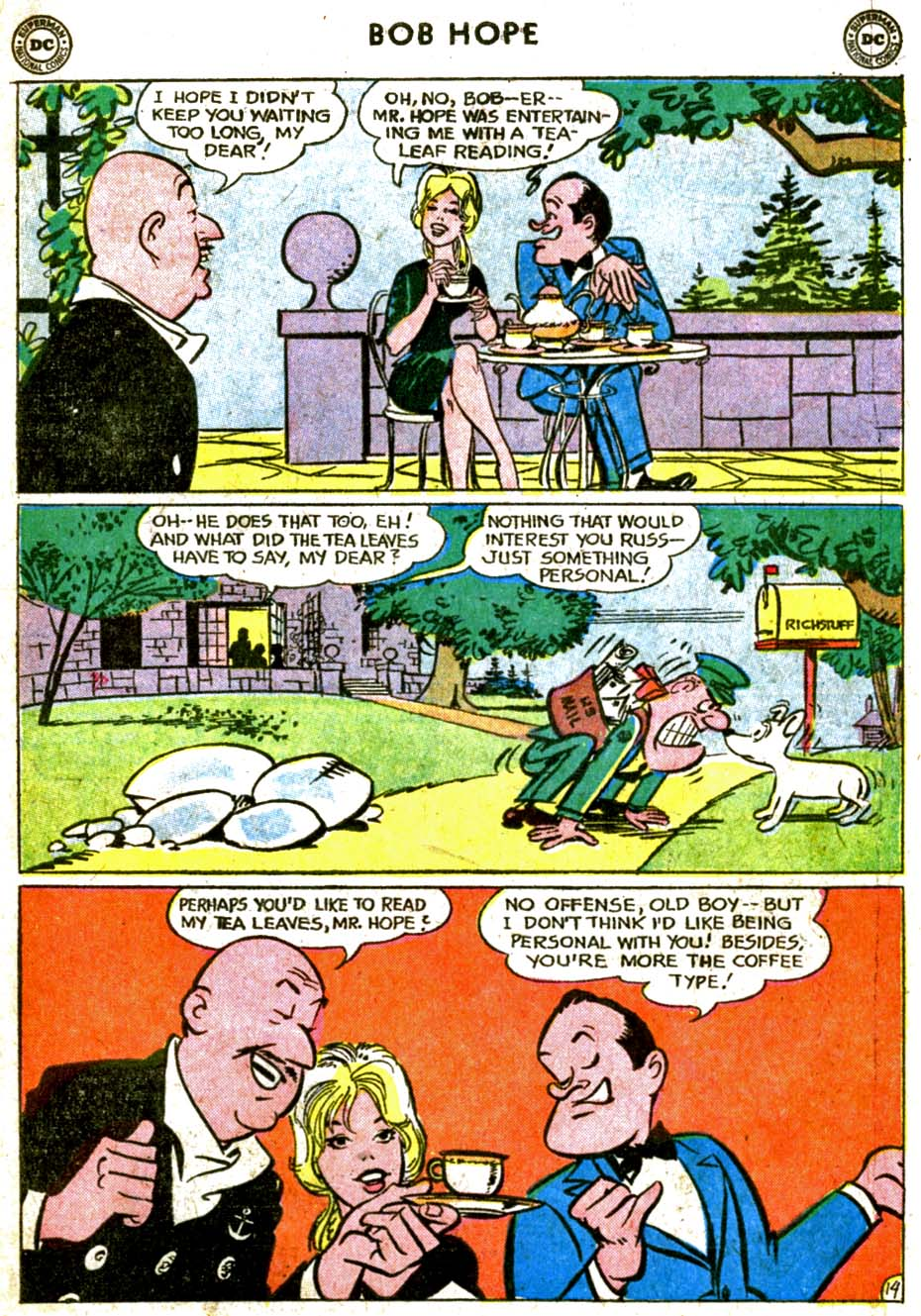 The Adventures of Bob Hope issue 77 - Page 19