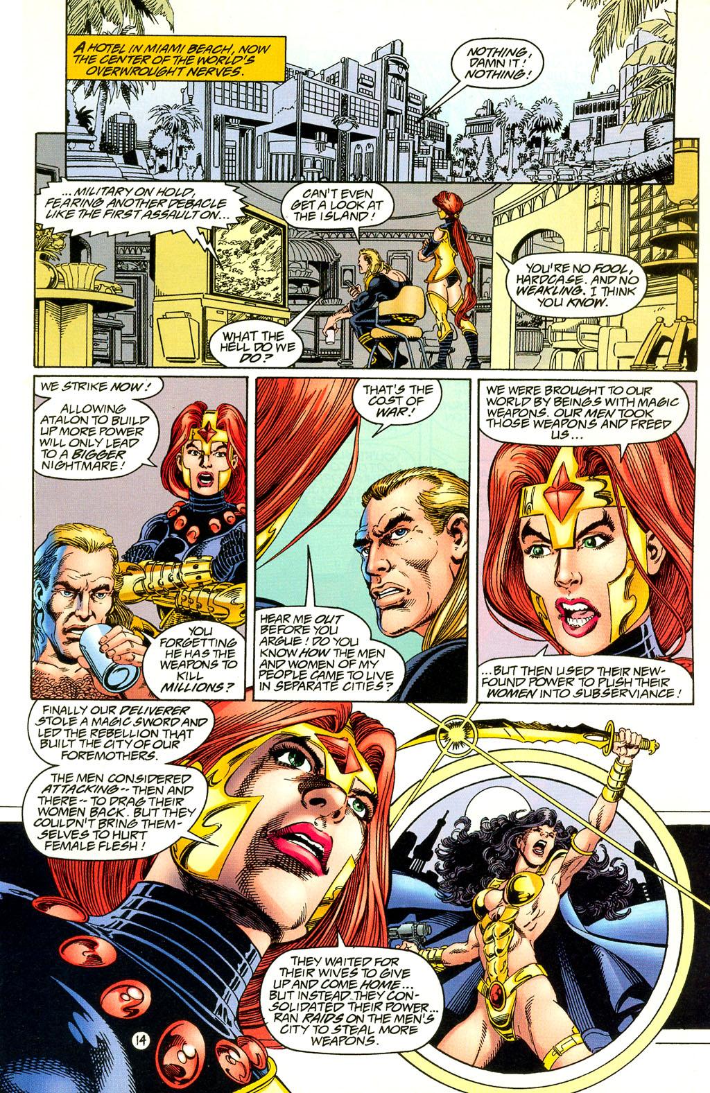 Read online UltraForce (1994) comic -  Issue #4 - 14