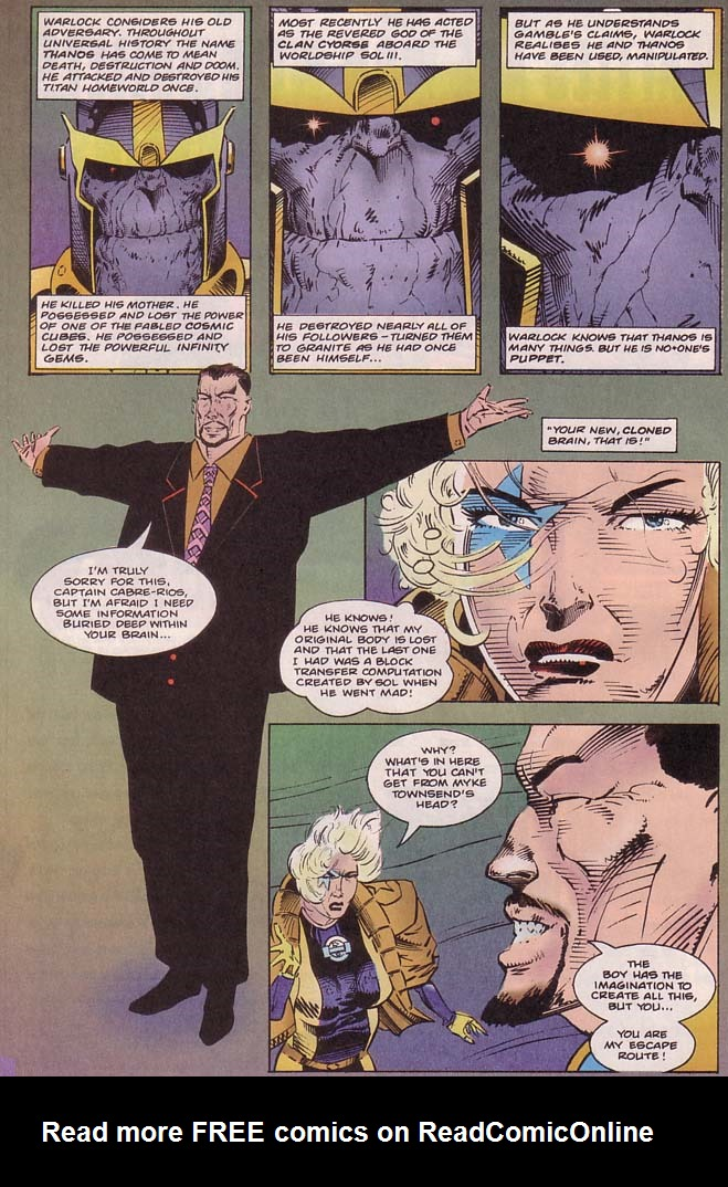 Read online Cyberspace 3000 comic -  Issue #8 - 5