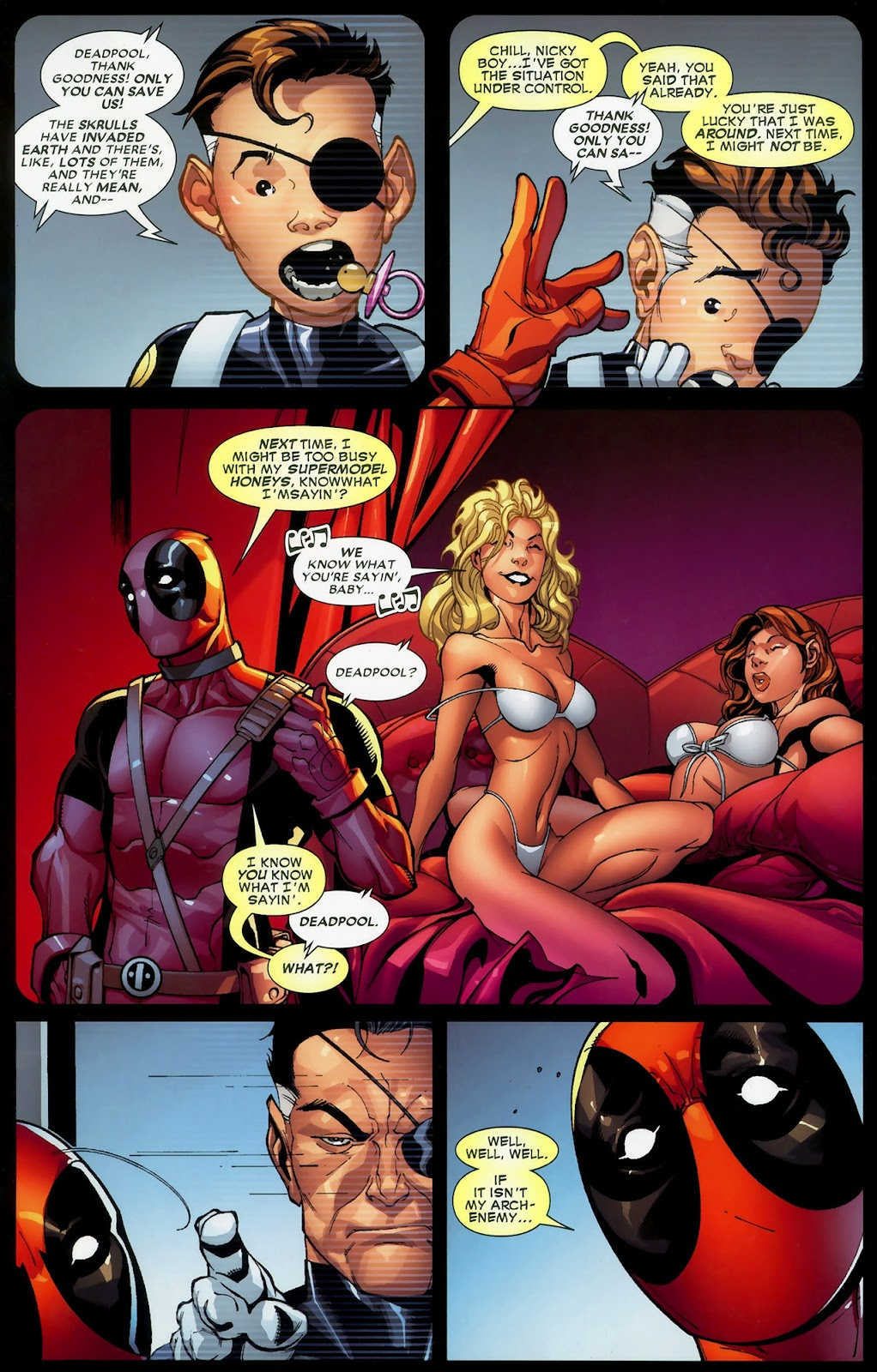 Read online Deadpool (2008) comic -  Issue #3 - 3