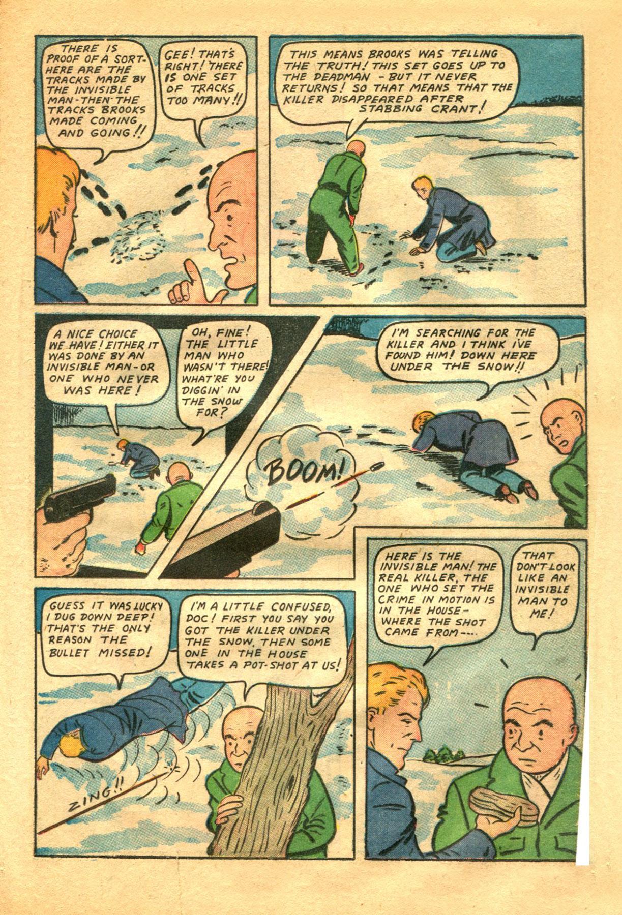 Read online Shadow Comics comic -  Issue #48 - 21