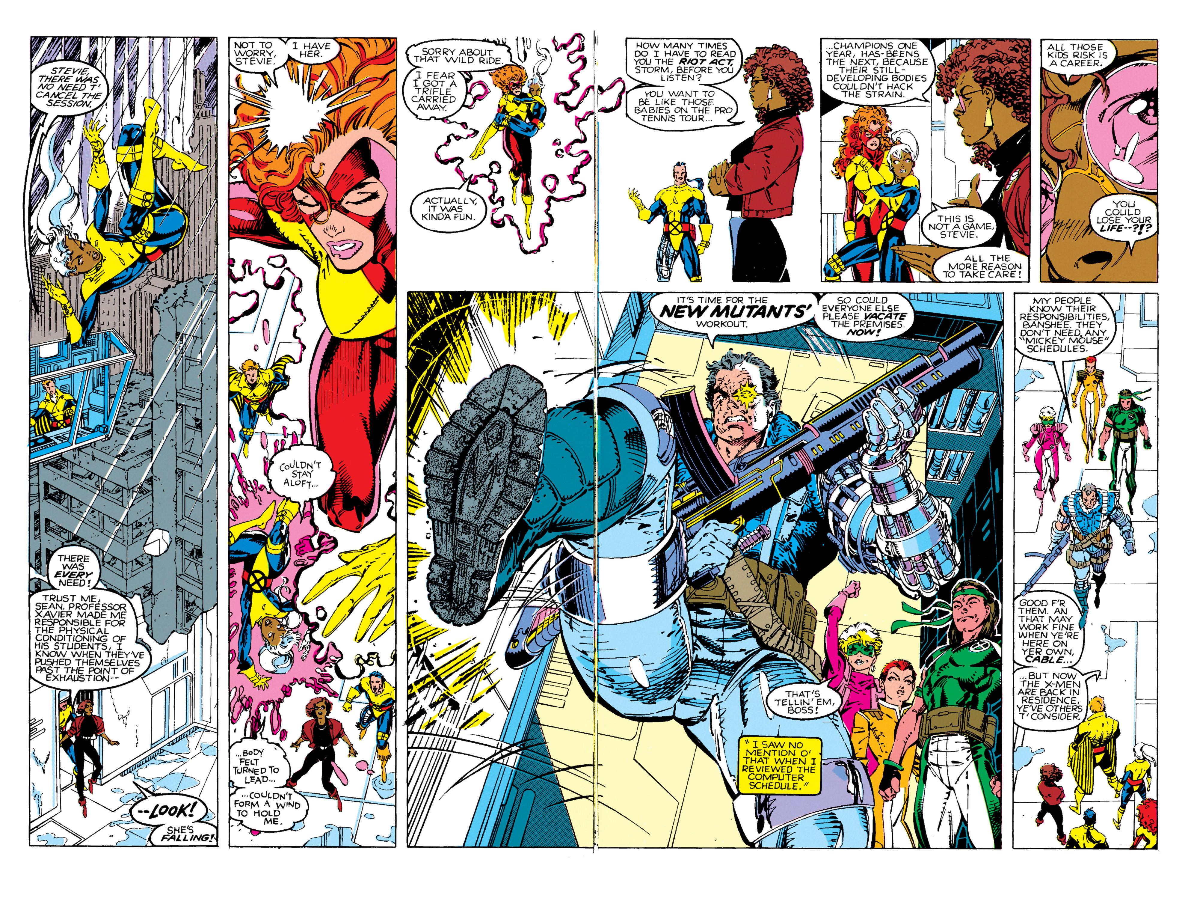 Read online Uncanny X-Men (1963) comic -  Issue #270 - 7