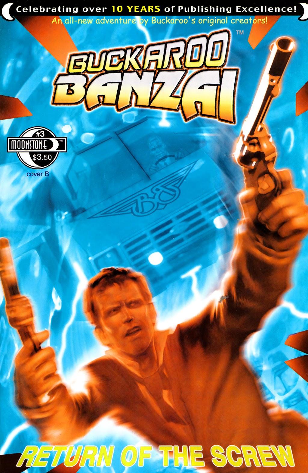 Buckaroo Banzai: Return of the Screw 3 Page 1