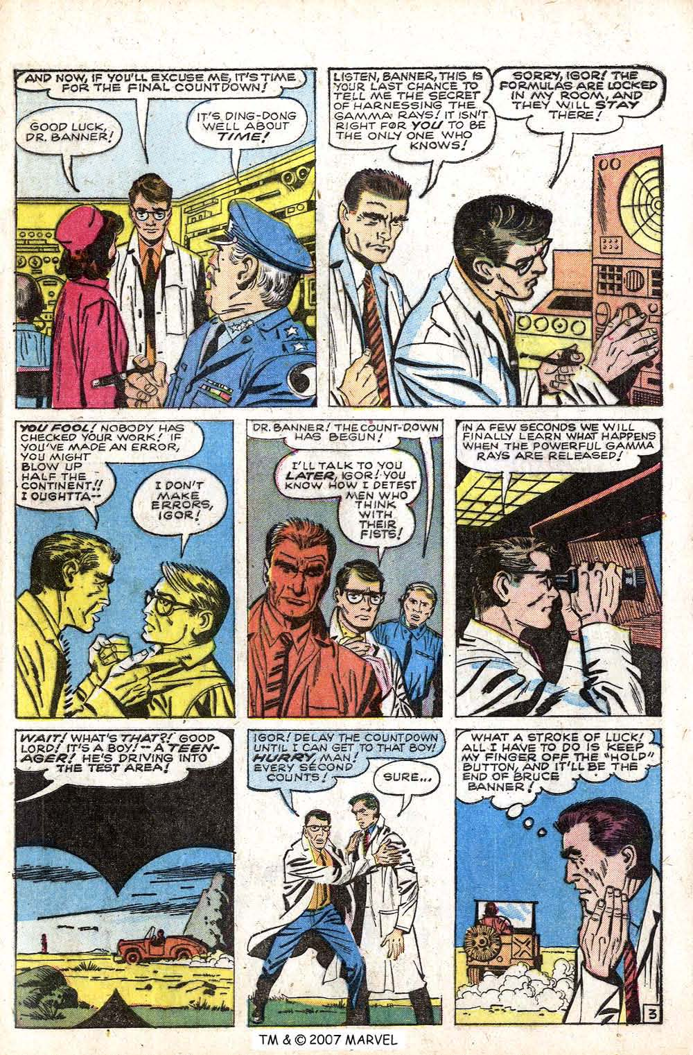 The Incredible Hulk (1962) issue 1 - Page 5