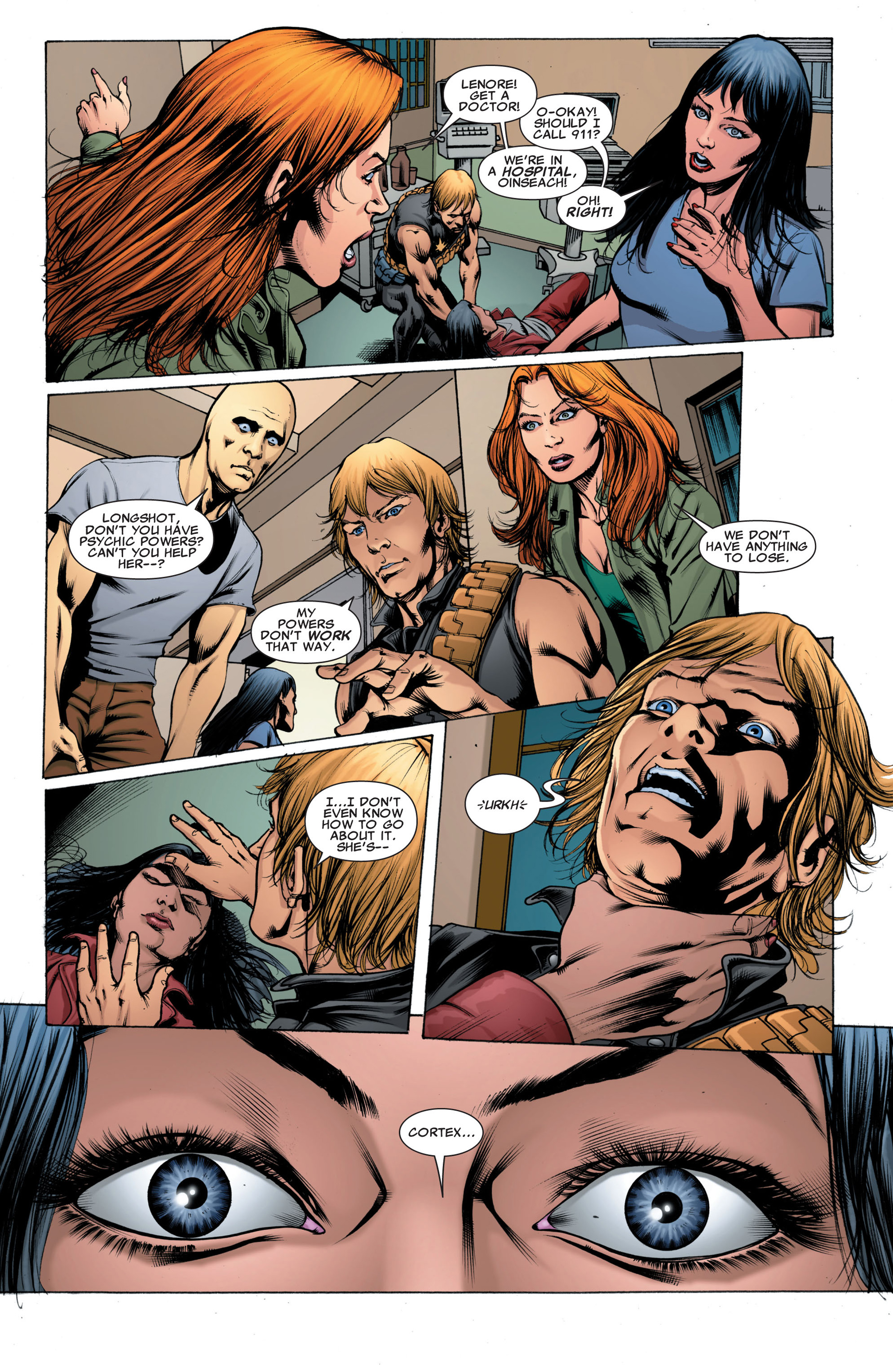 Read online X-Factor (2006) comic -  Issue #43 - 19