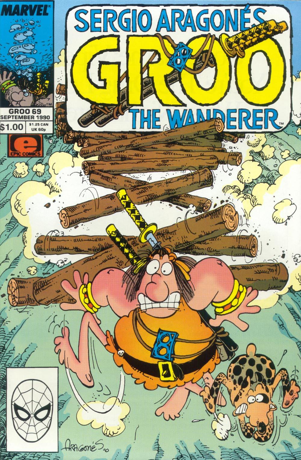 Read online Sergio Aragonés Groo the Wanderer comic -  Issue #69 - 1
