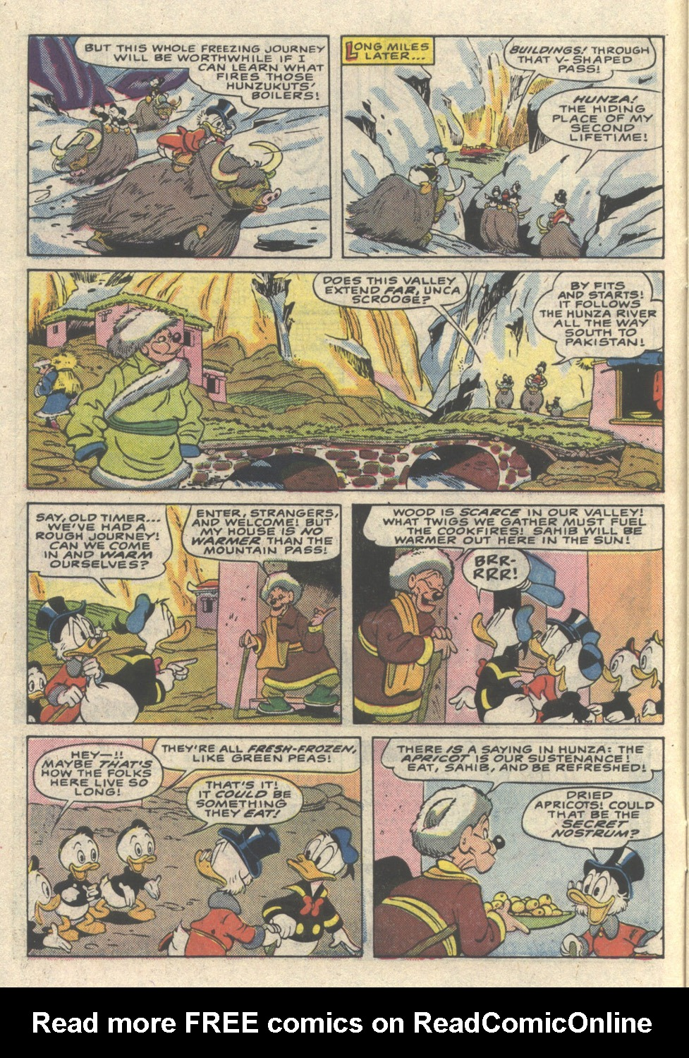 Read online Uncle Scrooge (1953) comic -  Issue #216 - 6