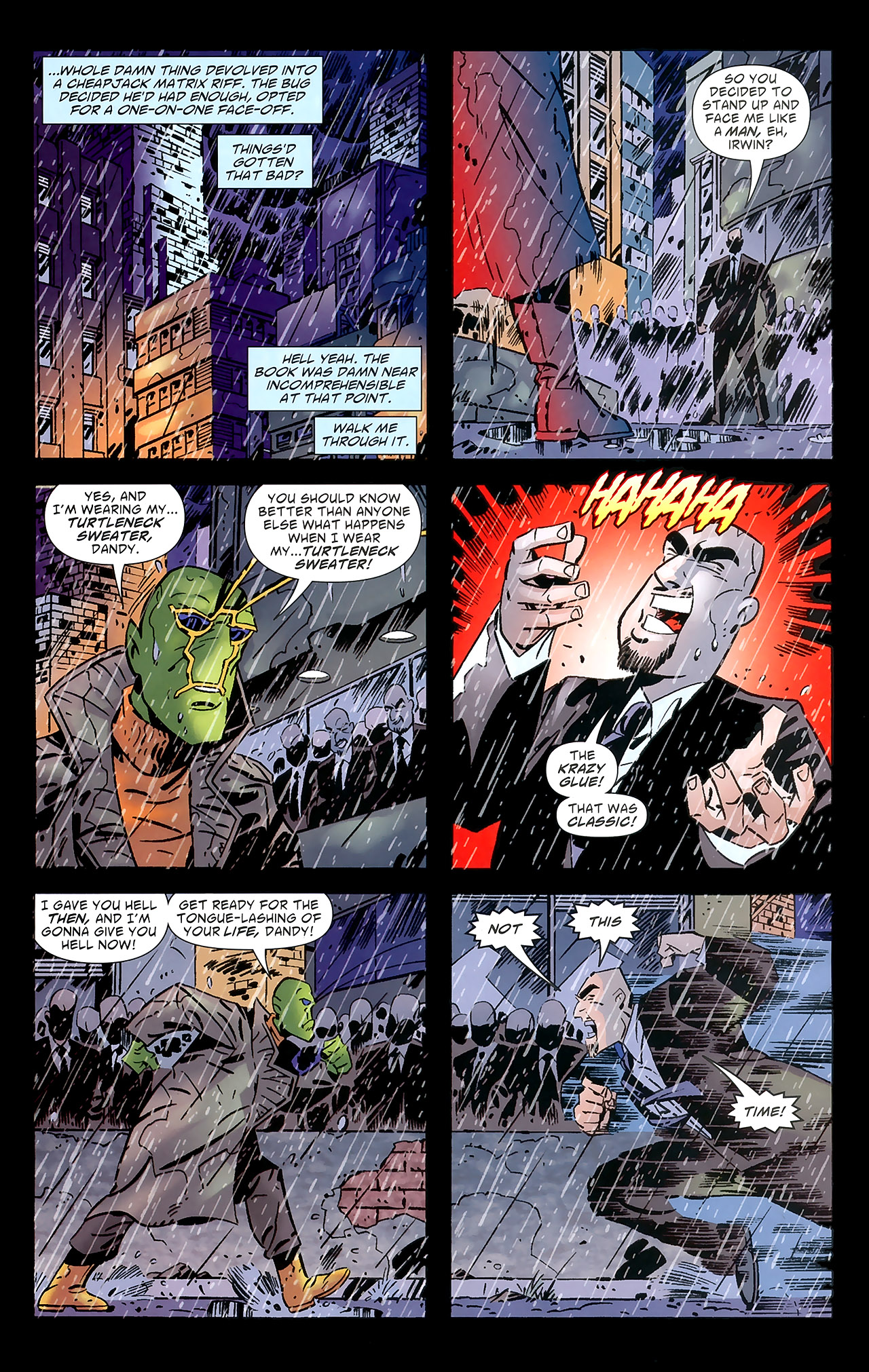 Read online Ambush Bug: Year None comic -  Issue #7 - 15