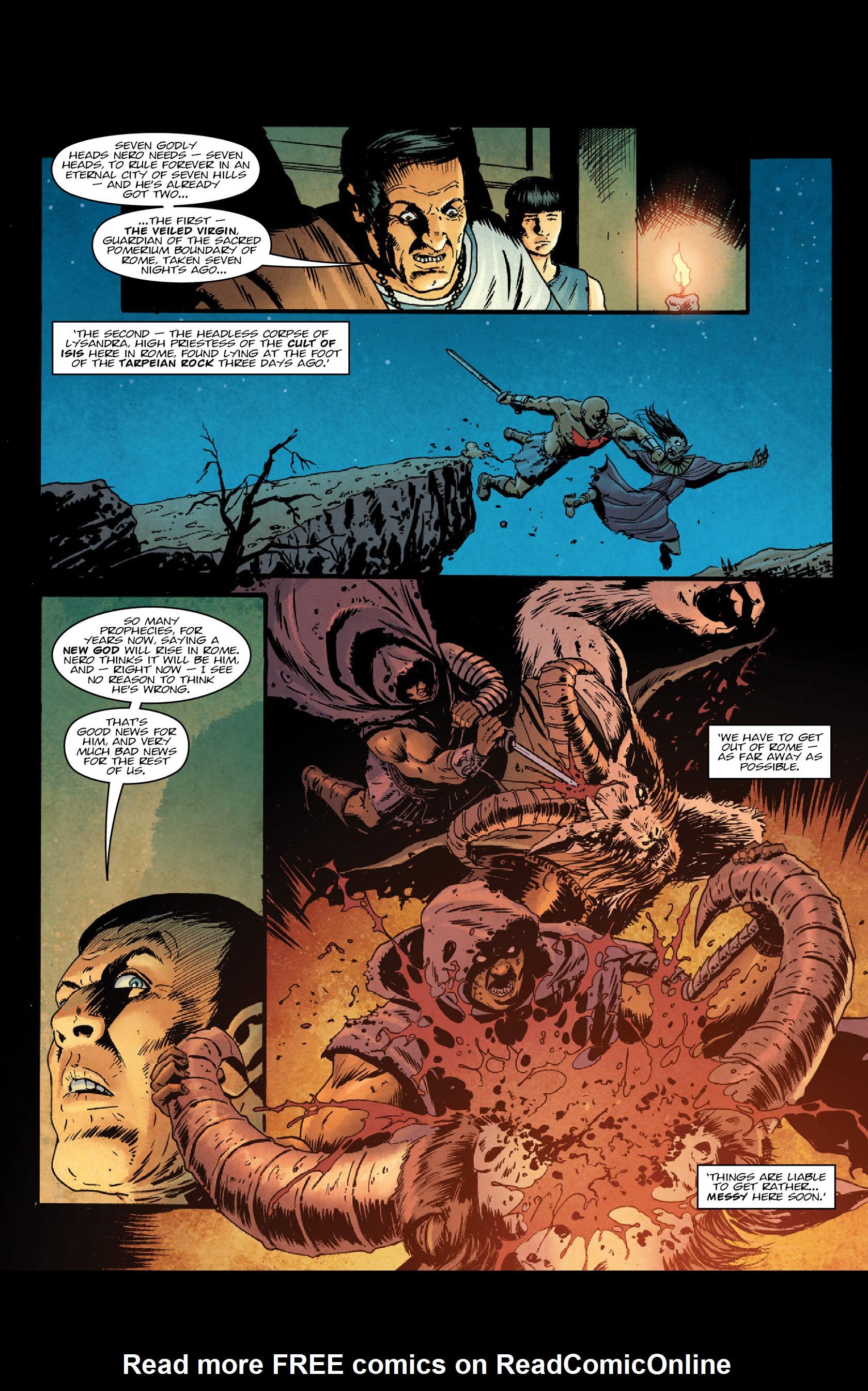 Read online Aquila comic -  Issue #3 - 33