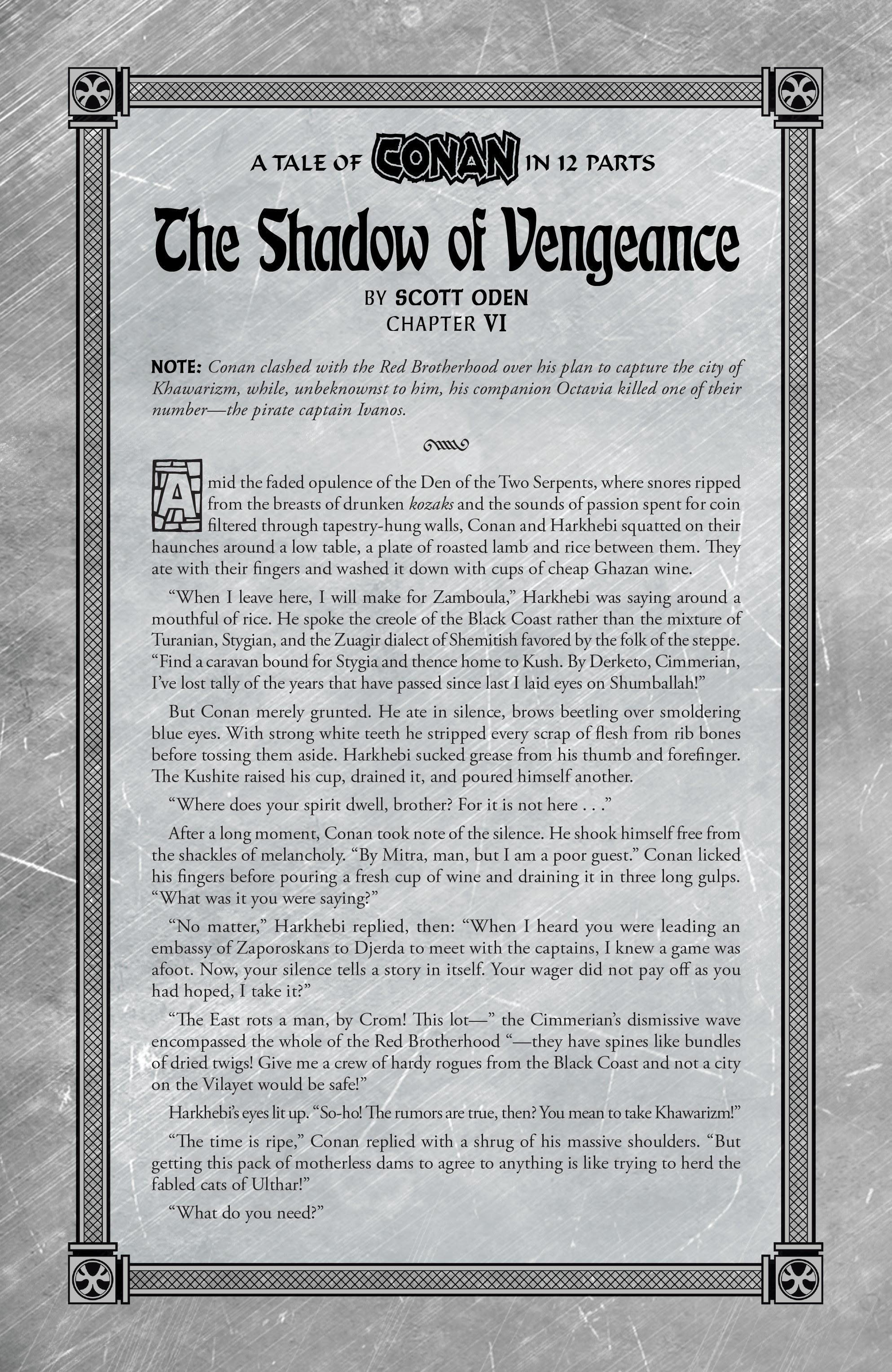Read online Savage Sword of Conan comic -  Issue #6 - 25
