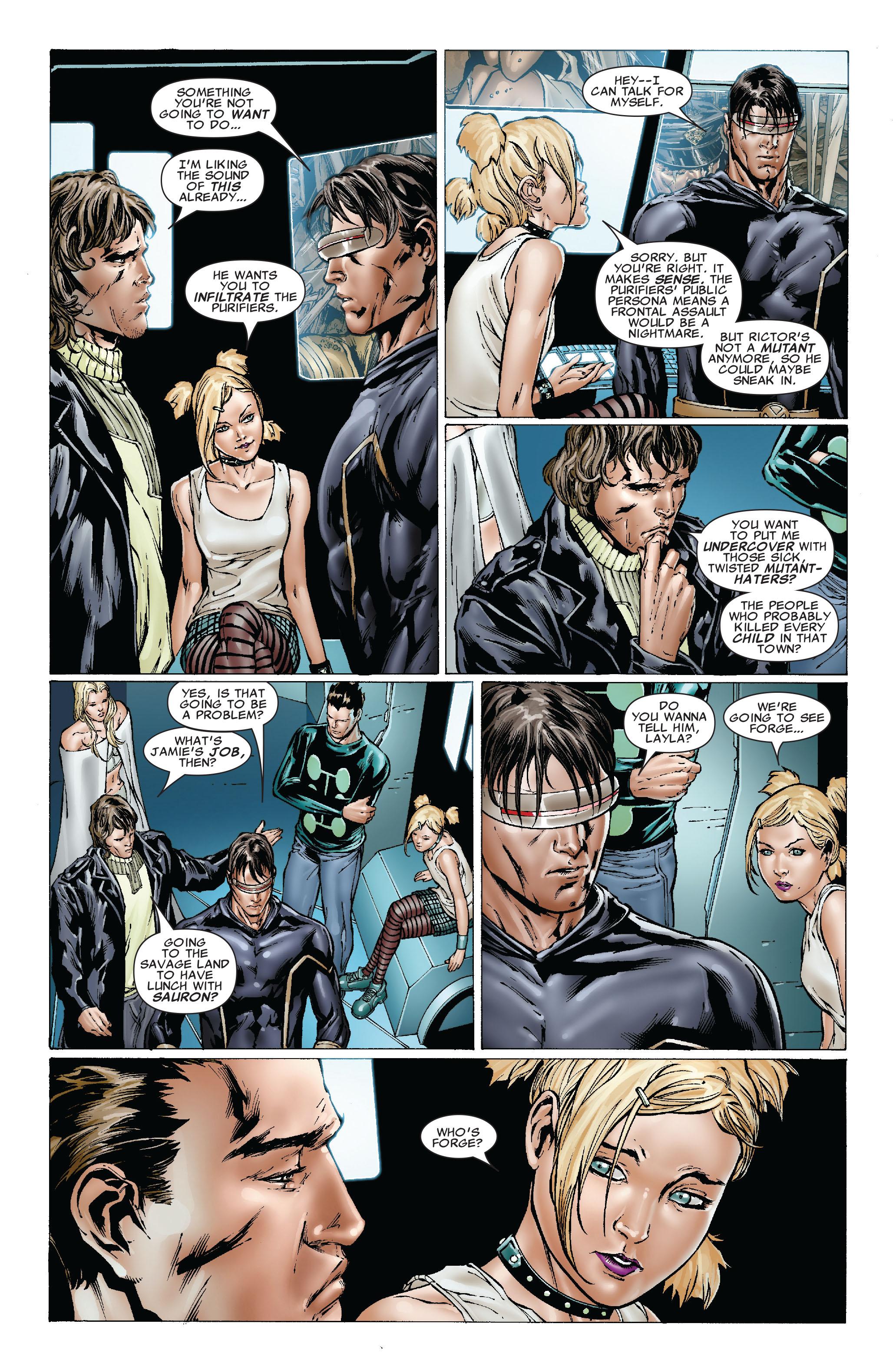 Read online Uncanny X-Men (1963) comic -  Issue #492 - 16