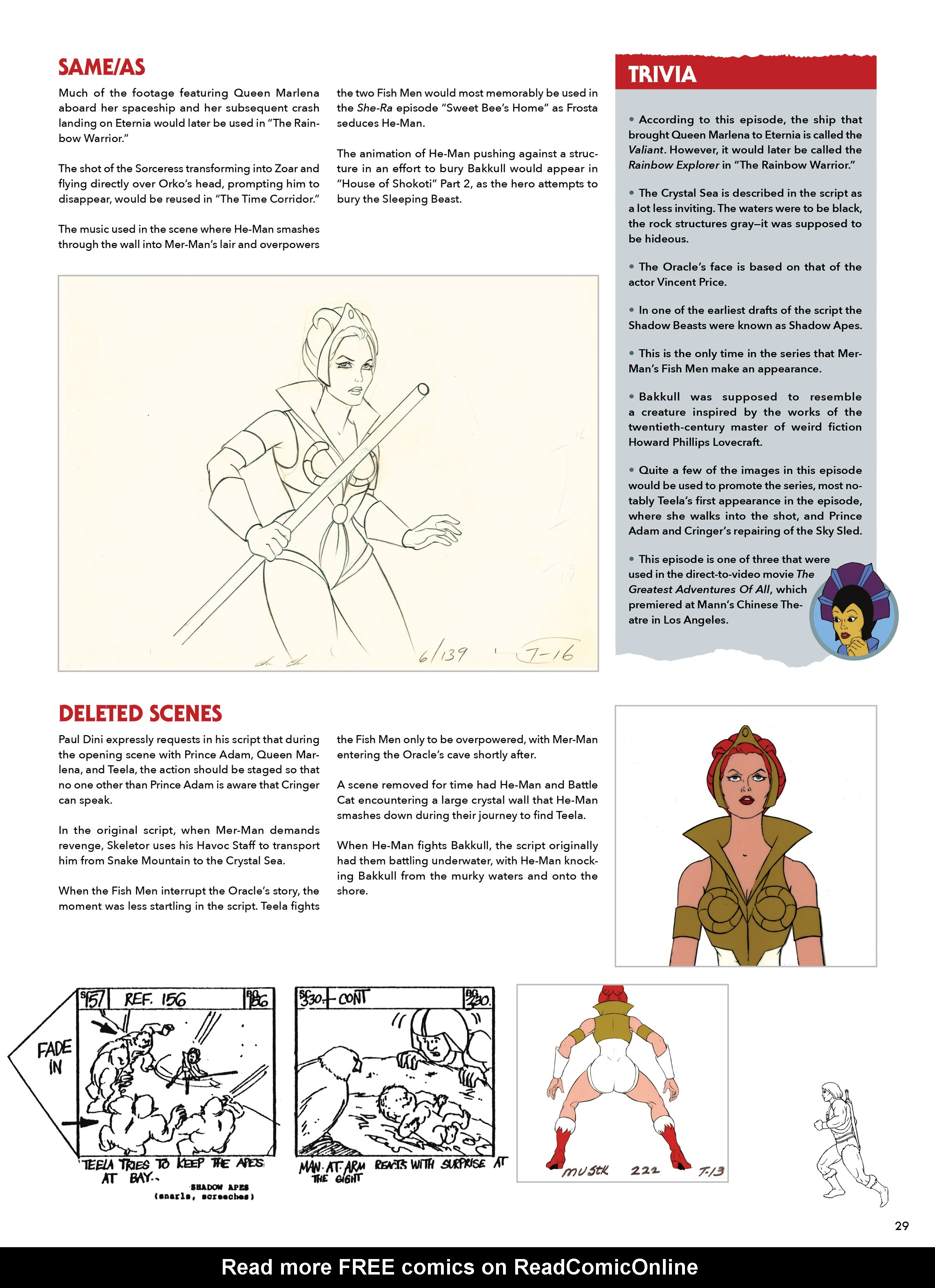 Read online He-Man and She-Ra: A Complete Guide to the Classic Animated Adventures comic -  Issue # TPB (Part 1) - 29