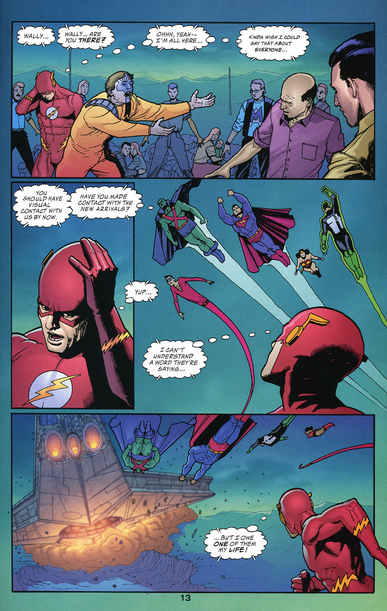 Read online JLA/Haven: Arrival comic -  Issue # Full - 13