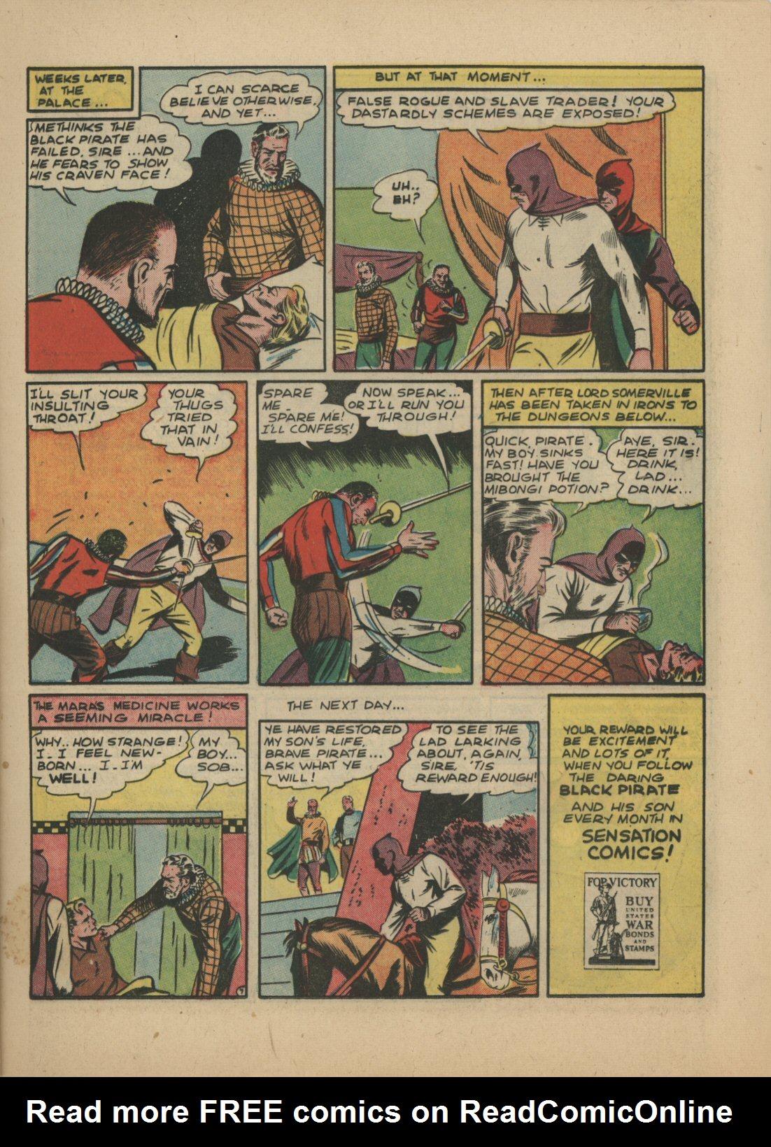 Read online Sensation (Mystery) Comics comic -  Issue #21 - 22