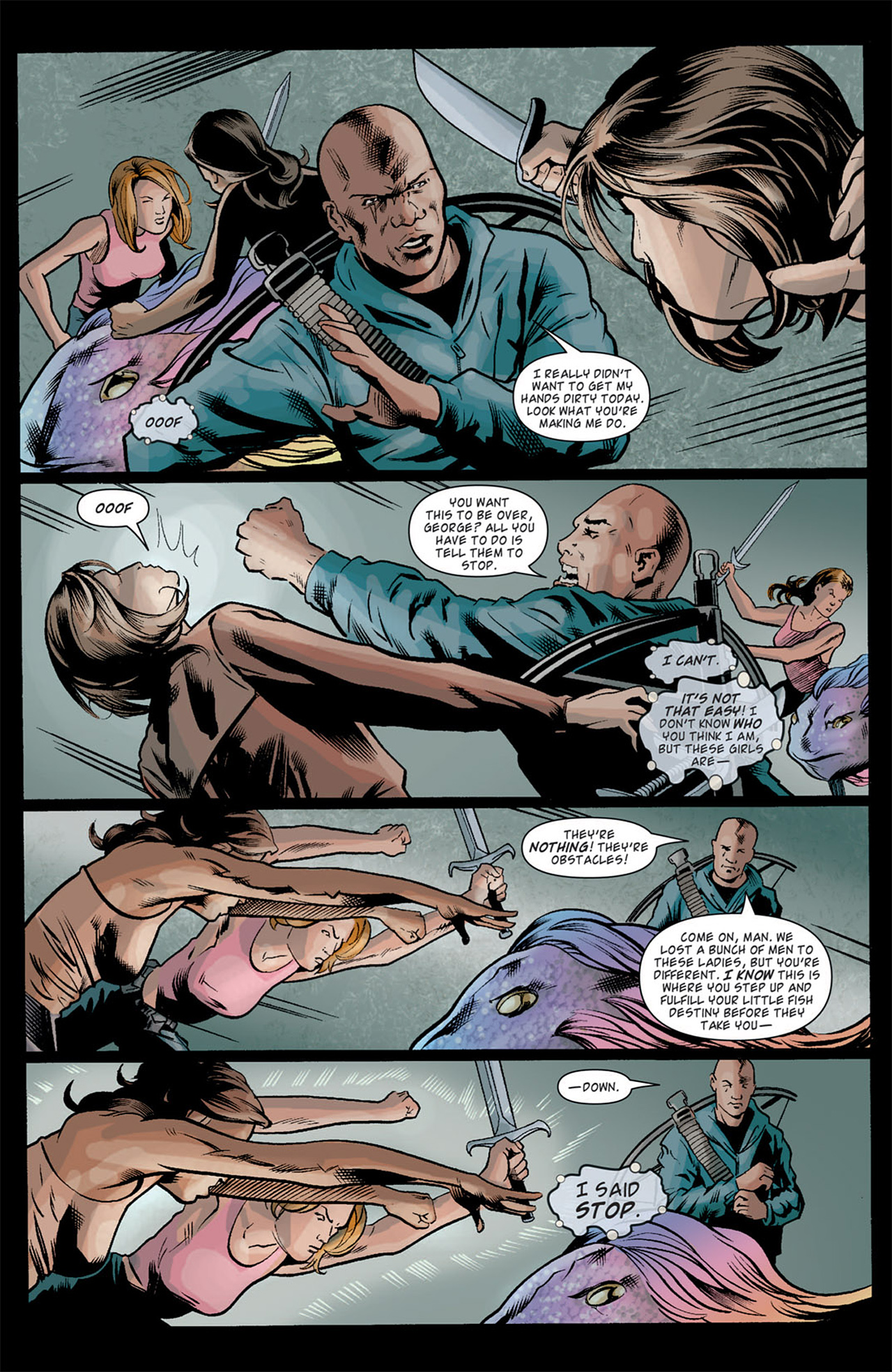 Read online Angel: After The Fall comic -  Issue #10 - 18