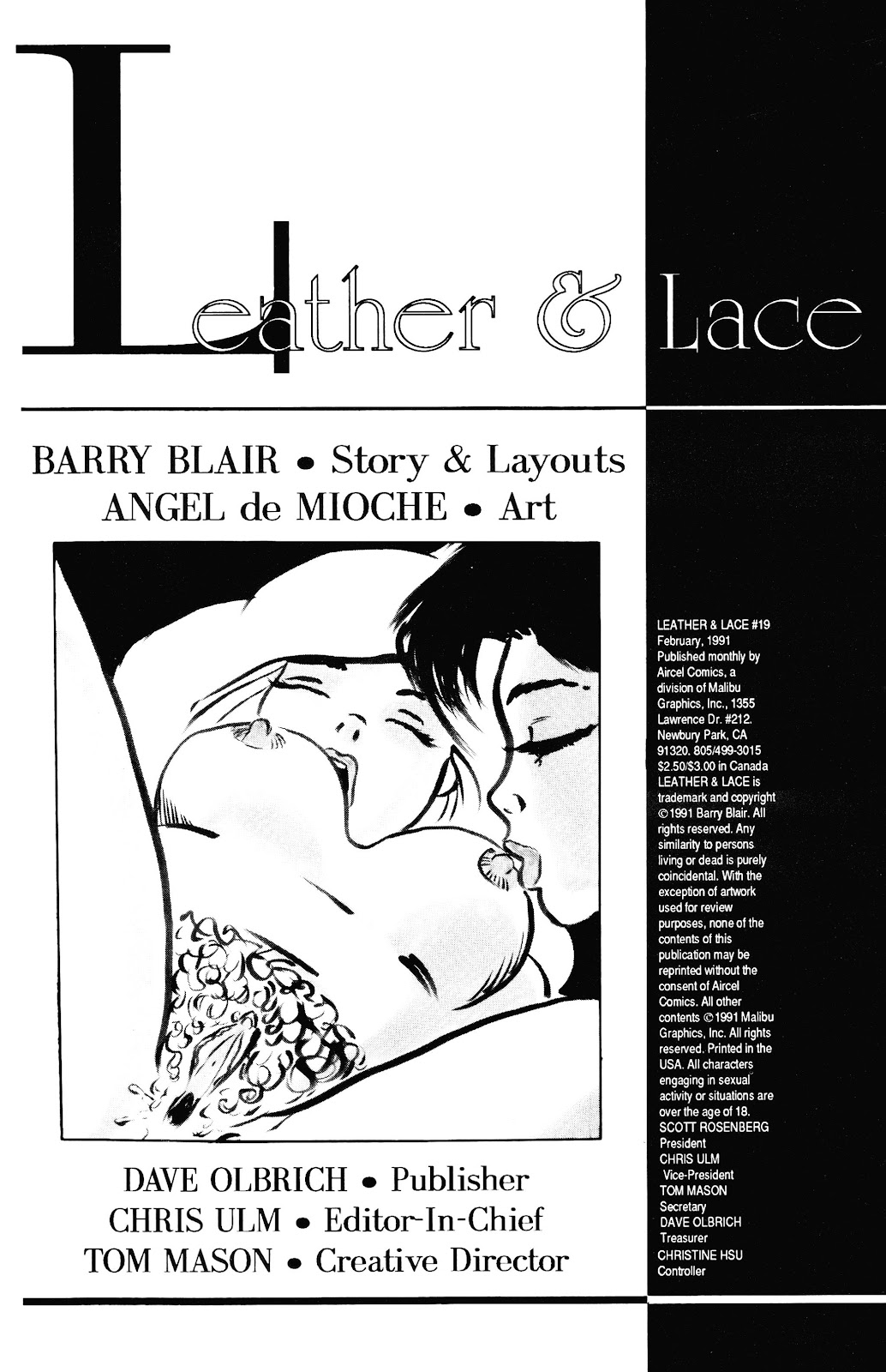 Leather & Lace (1989) 19 Page 2