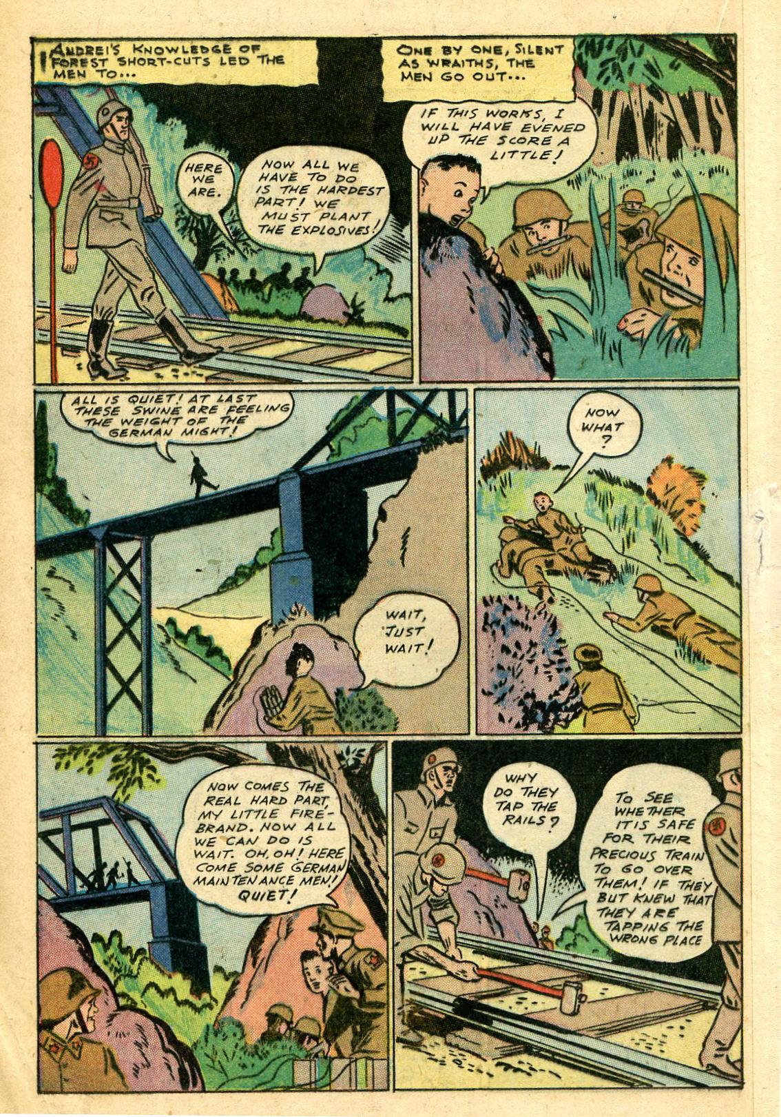 Read online Shadow Comics comic -  Issue #44 - 35