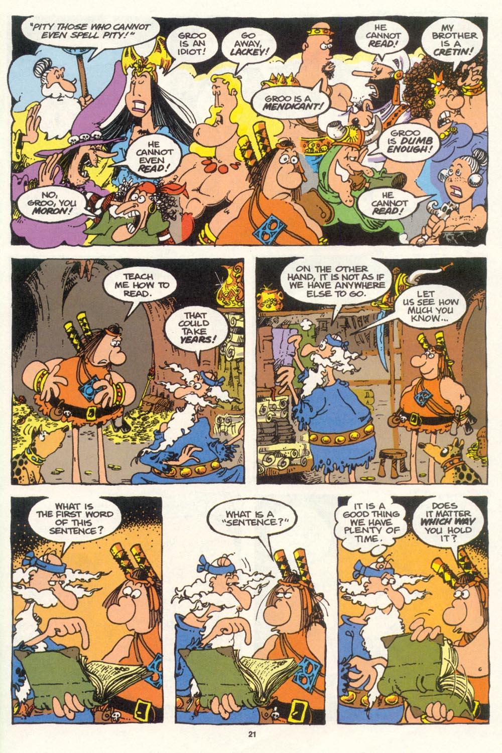 Read online Sergio Aragonés Groo the Wanderer comic -  Issue #100 - 22