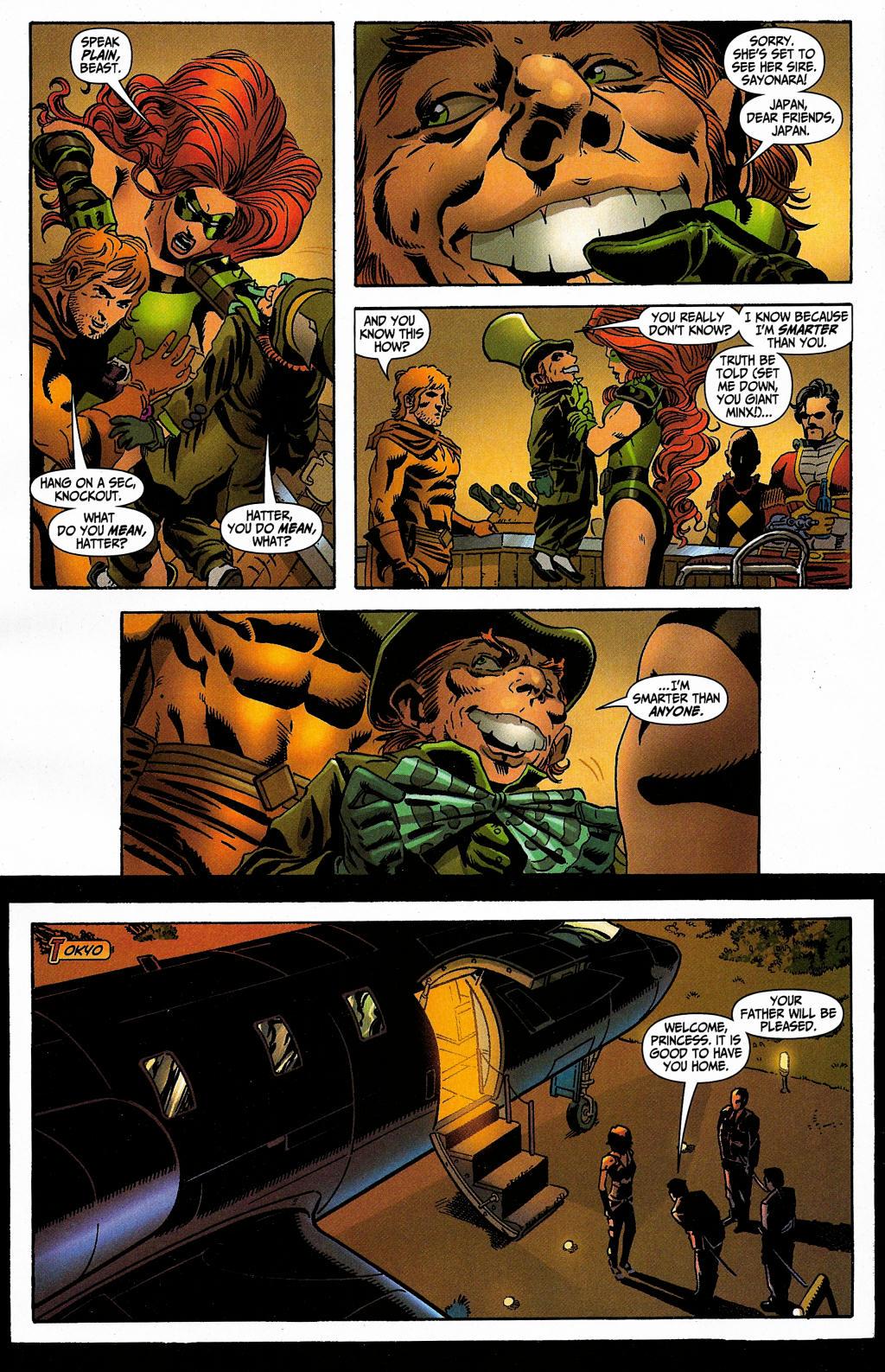 Read online Secret Six (2006) comic -  Issue #5 - 18
