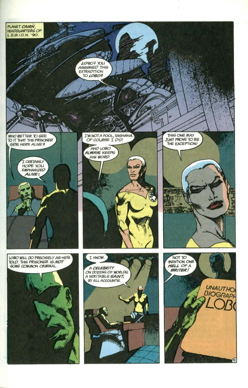 Read online Lobo (1990) comic -  Issue #1 - 6