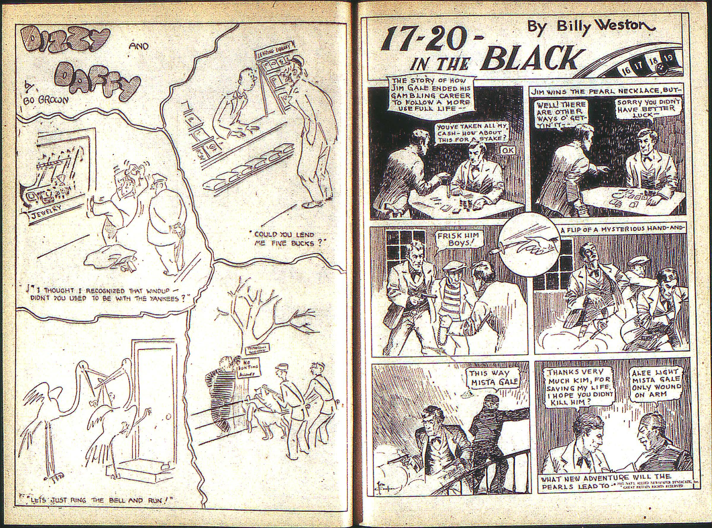 Read online Adventure Comics (1938) comic -  Issue #1 - 16