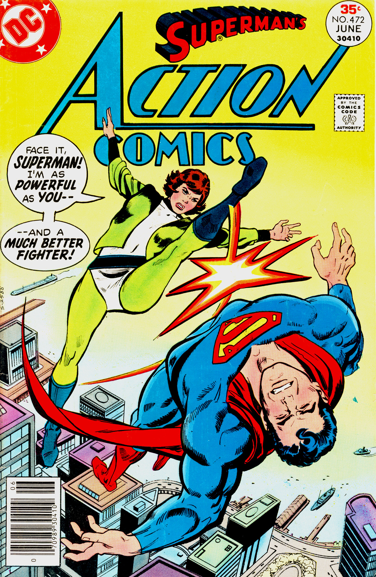 Read online Action Comics (1938) comic -  Issue #472 - 1
