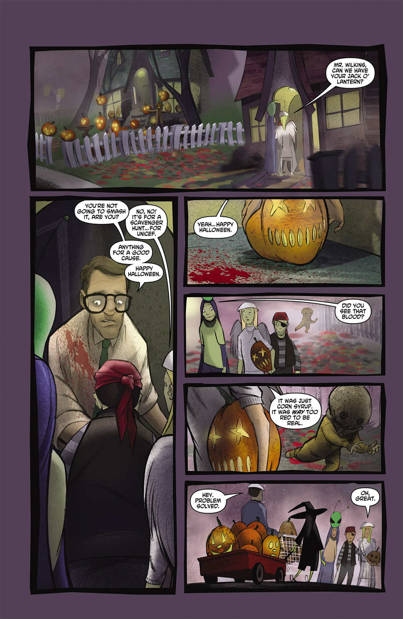 Read online Trick 'r Treat comic -  Issue #2 - 8