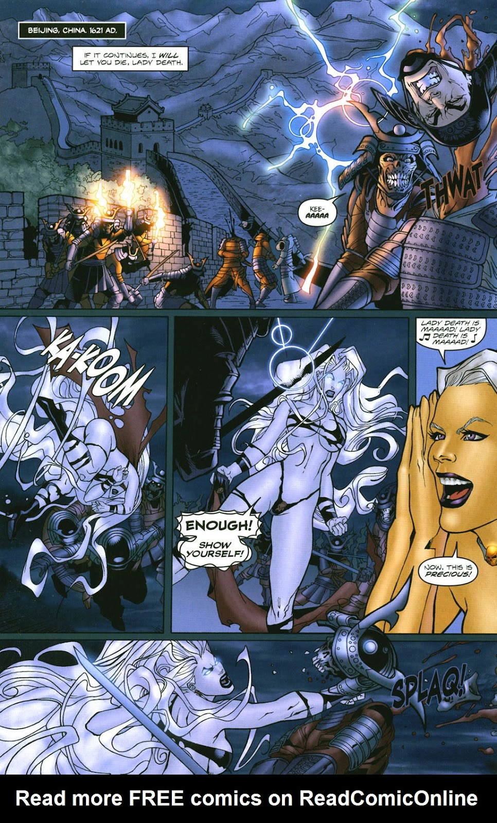Read online Lady Death: The Wicked comic -  Issue #1 - 25