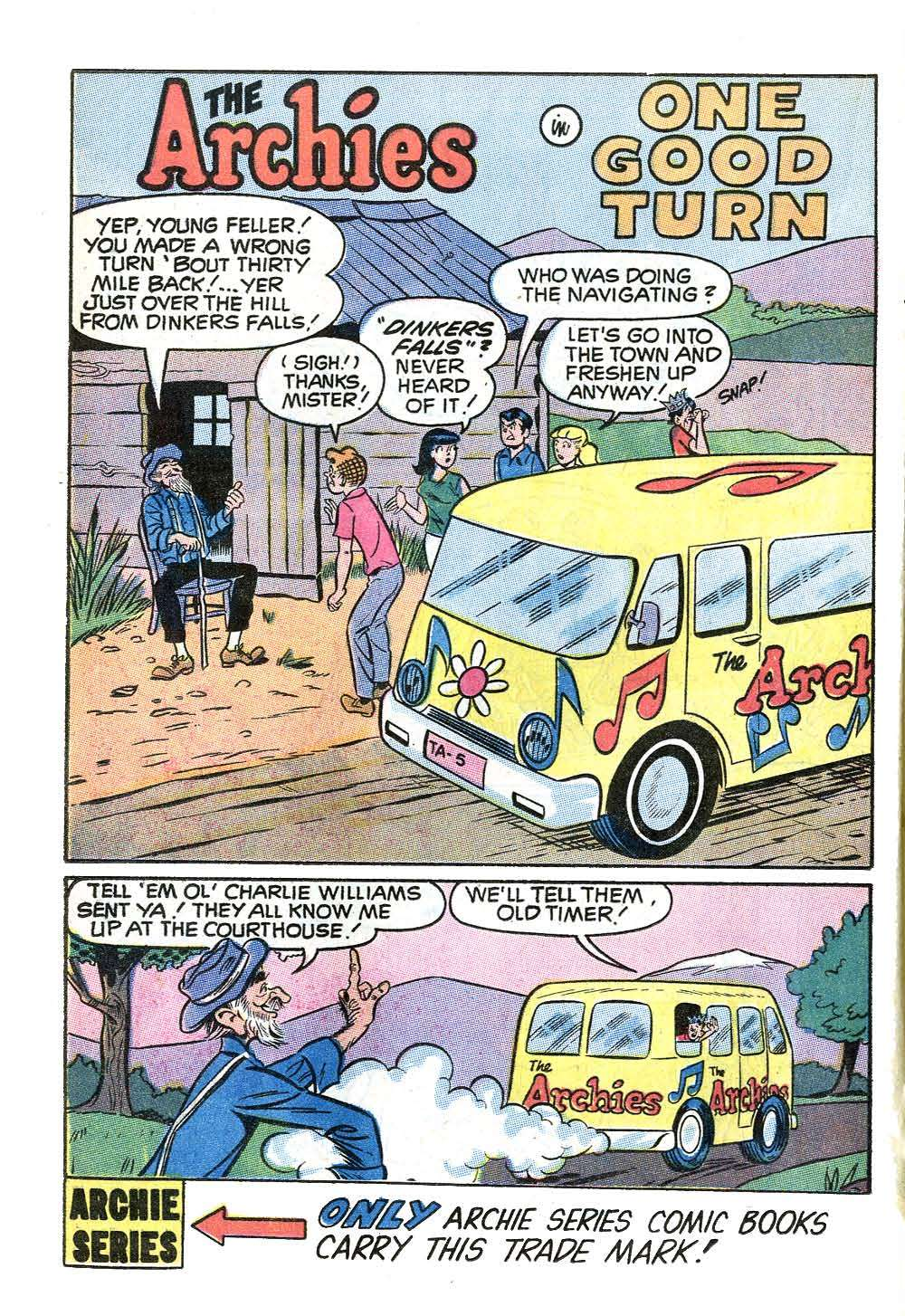 Read online Archie (1960) comic -  Issue #204 - 20