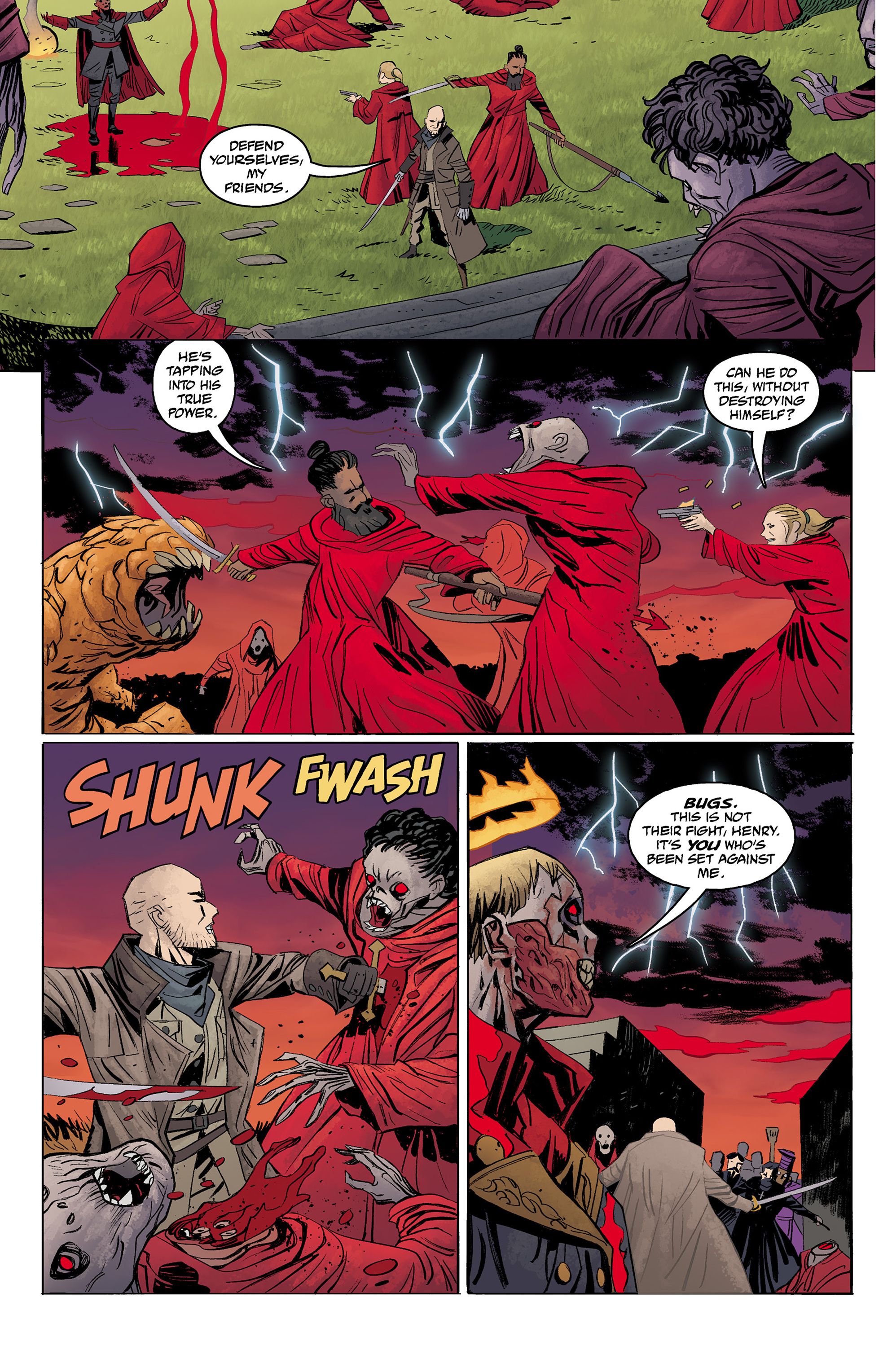 Read online Baltimore: The Red Kingdom comic -  Issue #5 - 15