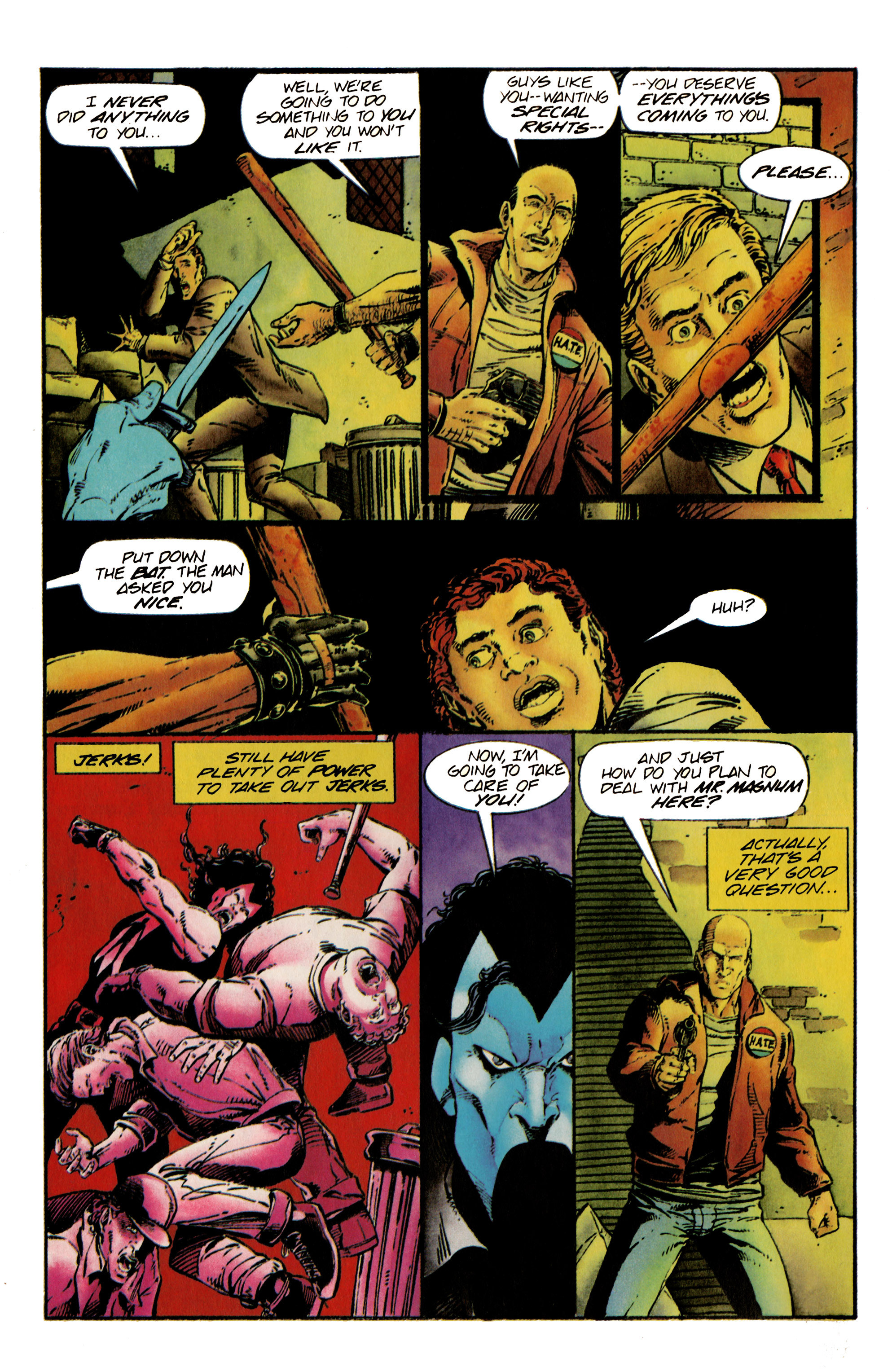Read online Shadowman (1992) comic -  Issue #24 - 5