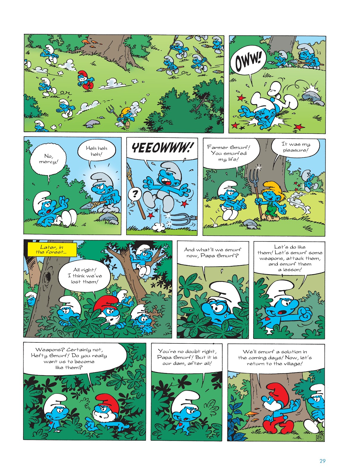 Read online The Smurfs comic -  Issue #22 - 30