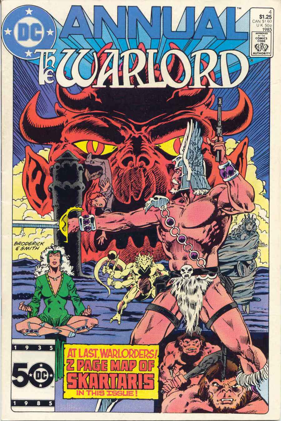 Warlord (1976) _Annual_4 Page 1