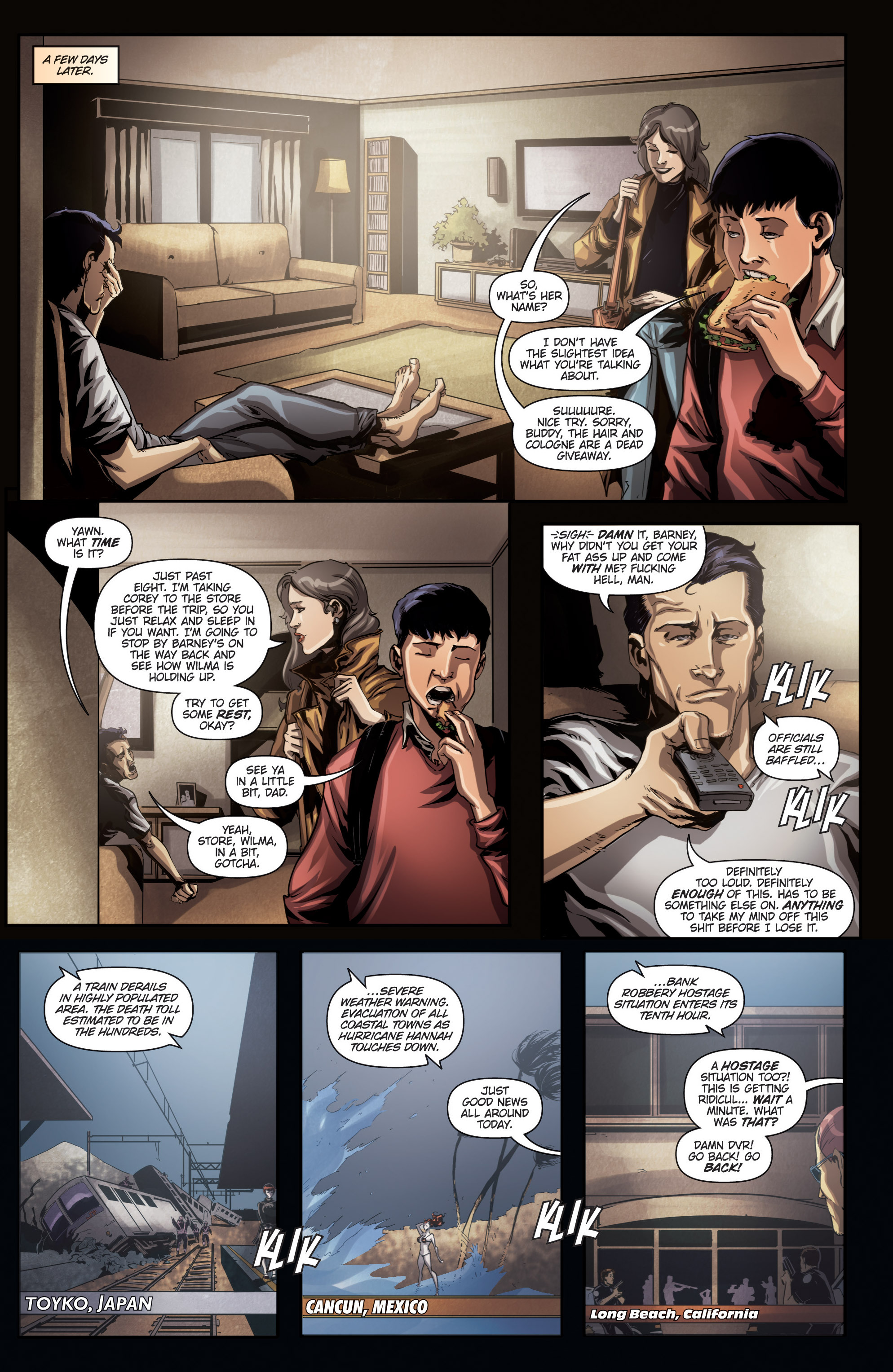 Read online Grimm Fairy Tales presents No Tomorrow comic -  Issue # TPB - 35