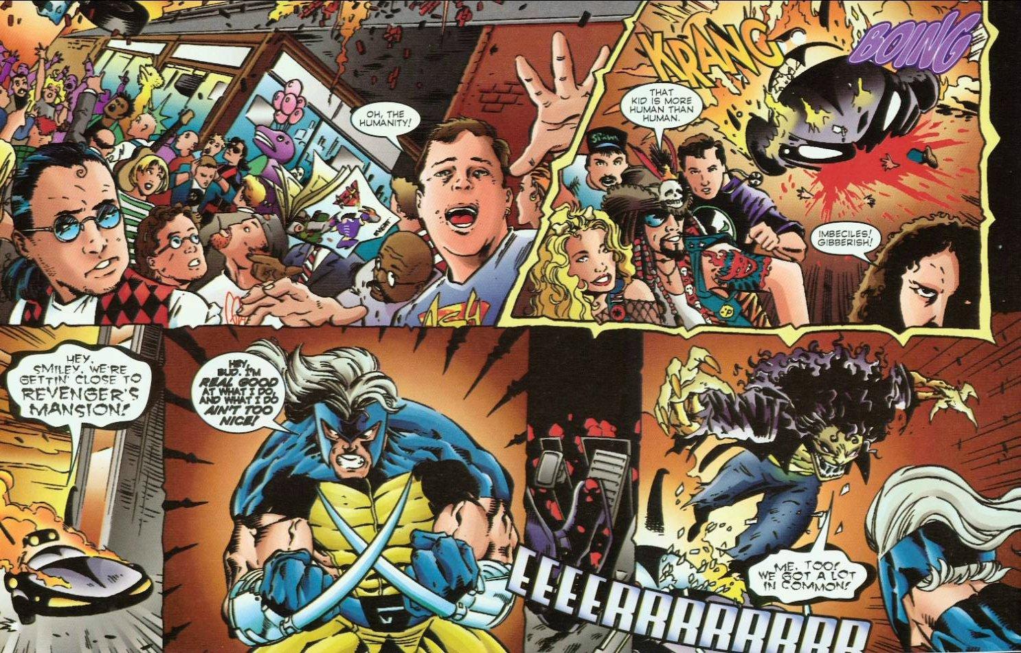 Read online Evil Ernie vs. the Superheroes comic -  Issue #1 - 17