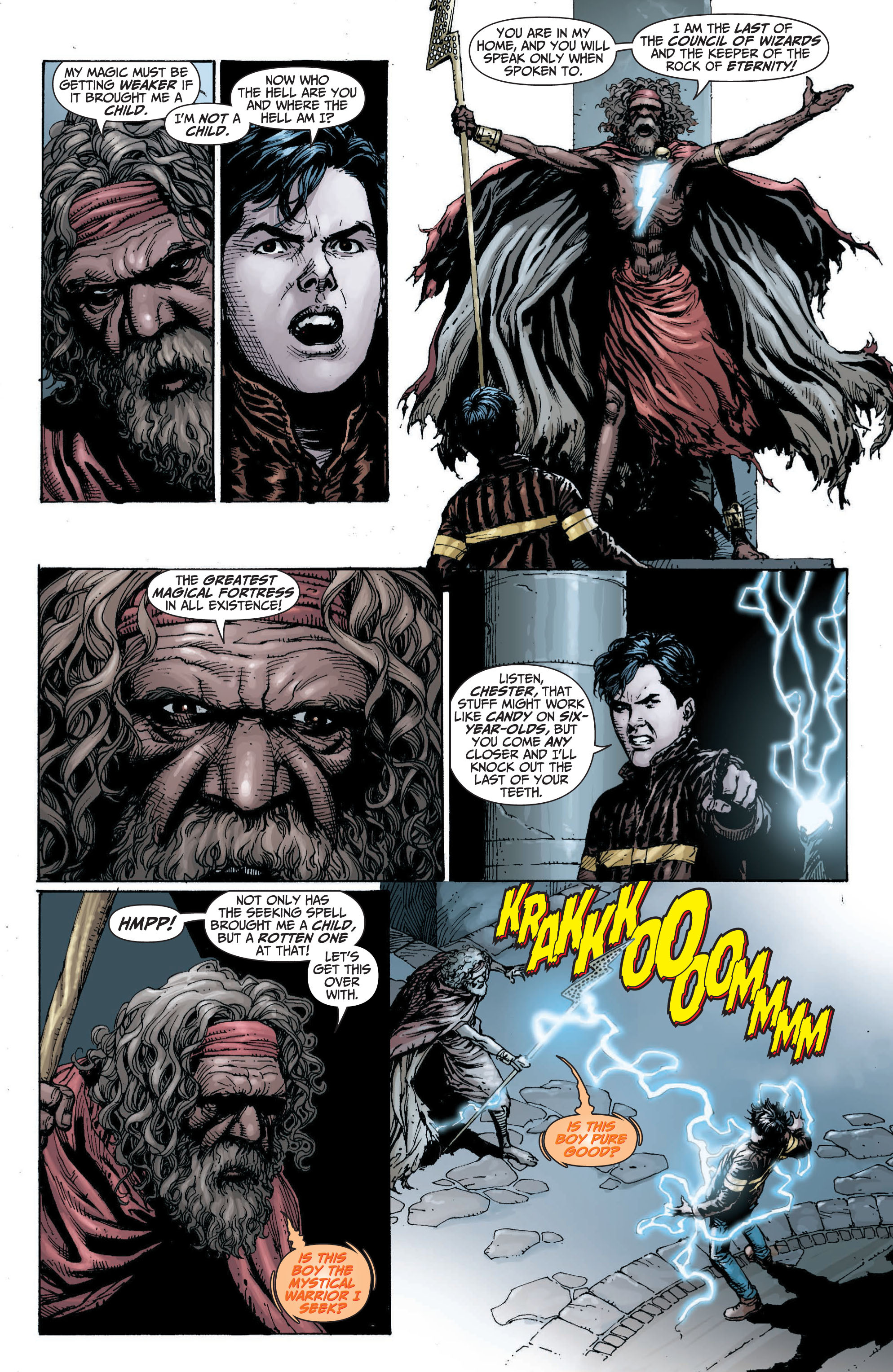 Read online Shazam! (2013) comic -  Issue #1 - 70