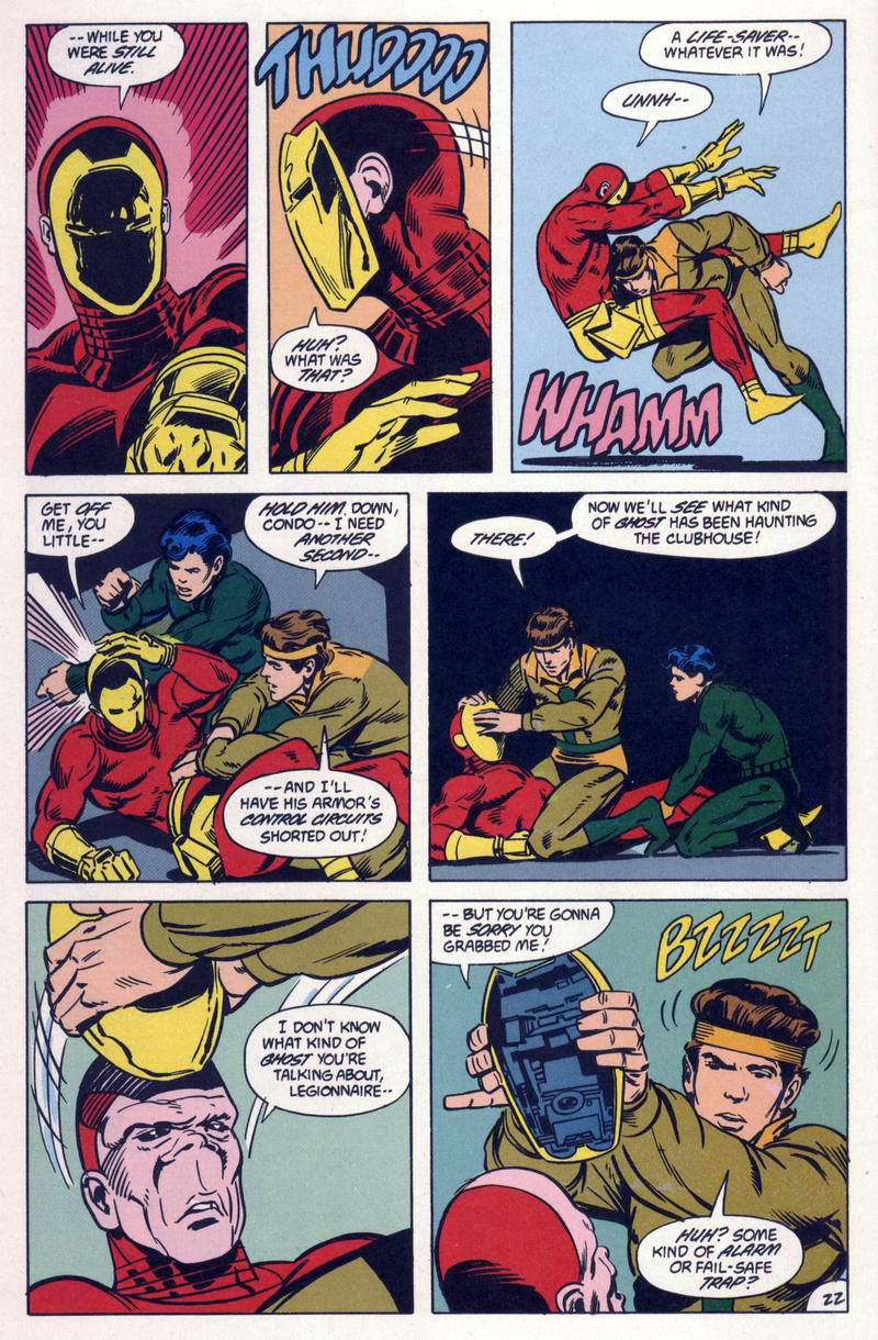 Legion of Super-Heroes (1984) 59 Page 22