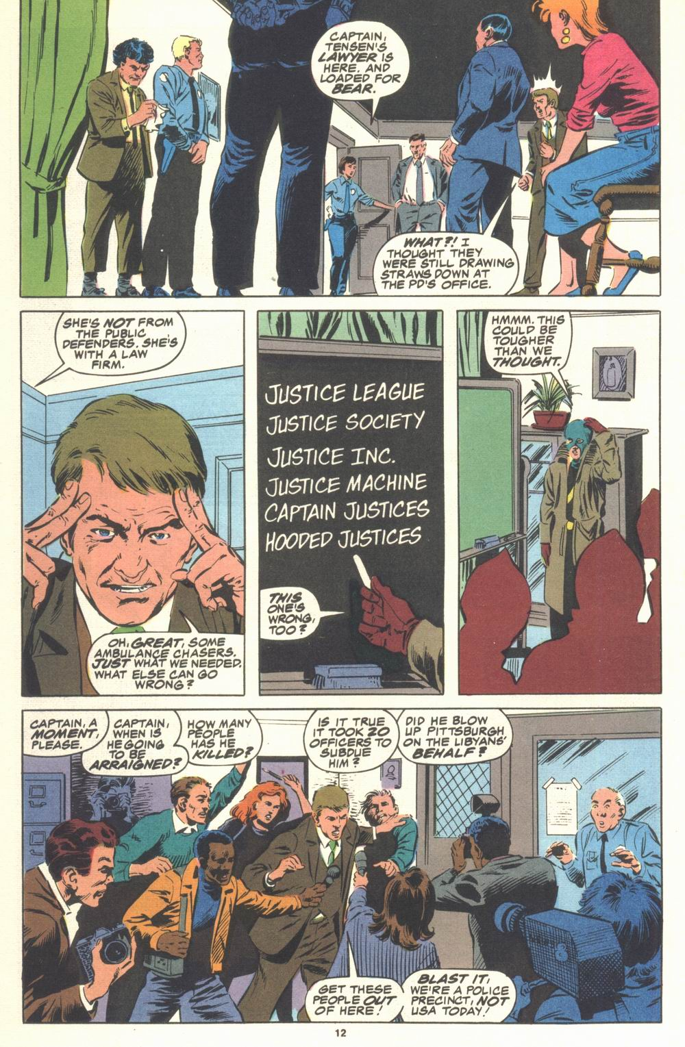 Read online Justice (1986) comic -  Issue #21 - 14