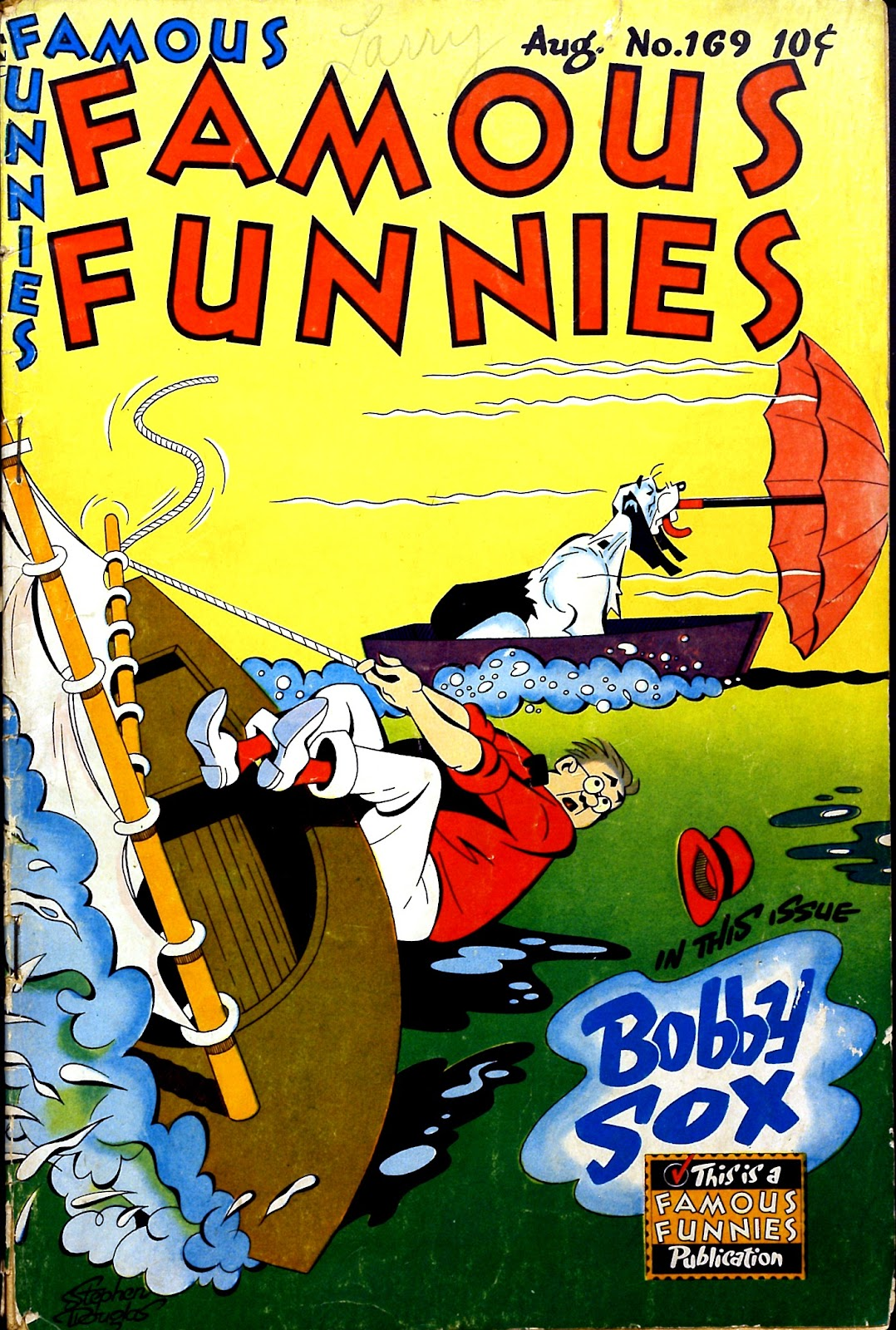 Read online Famous Funnies comic -  Issue #169 - 1