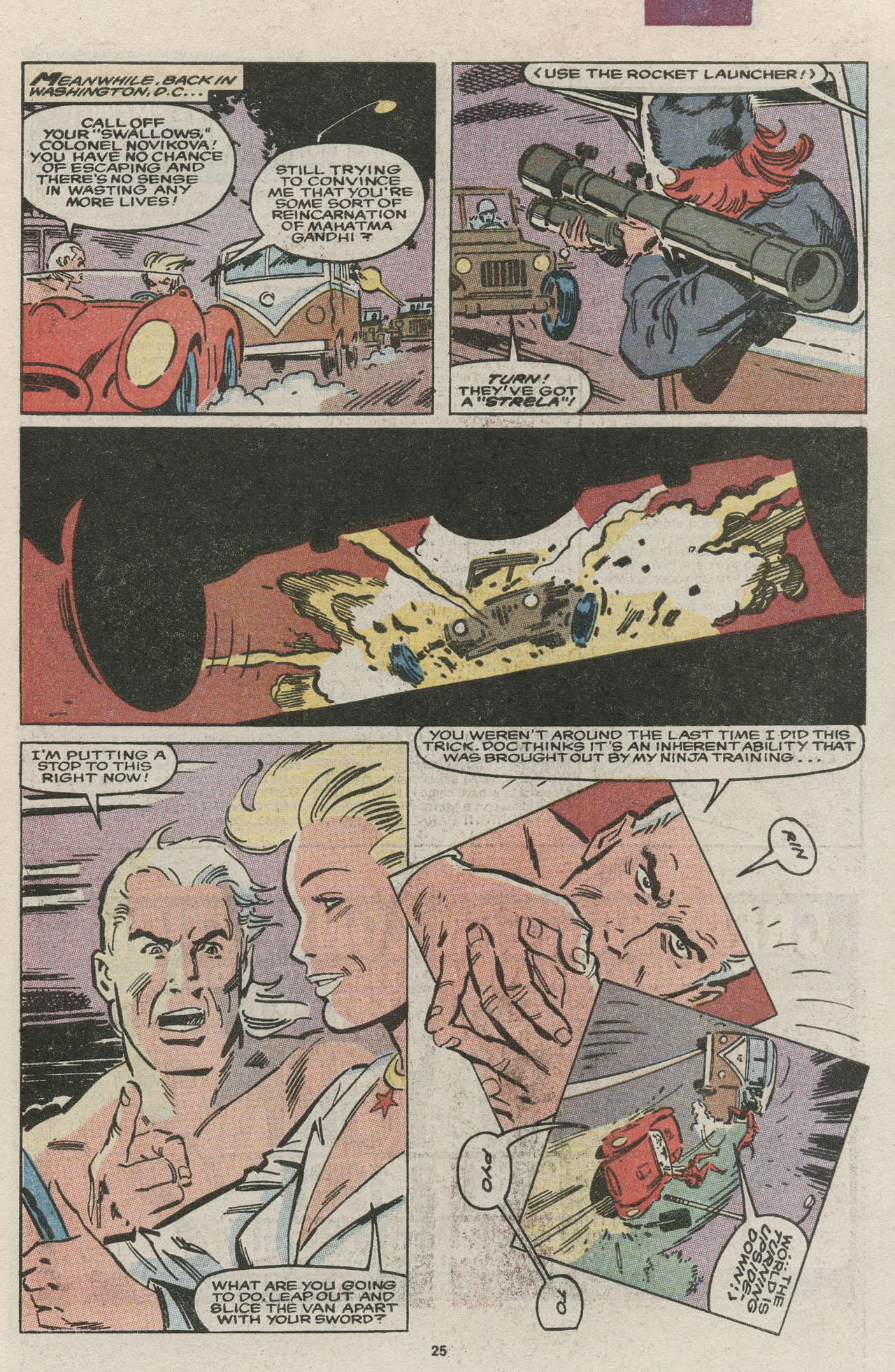 Read online Nth Man the Ultimate Ninja comic -  Issue #13 - 27