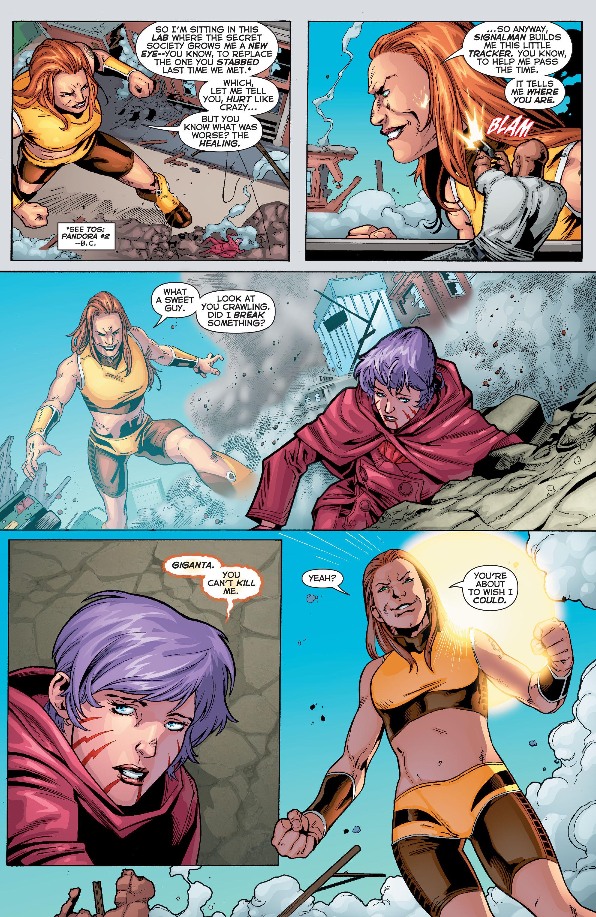 Read online Trinity of Sin: Pandora comic -  Issue #10 - 10