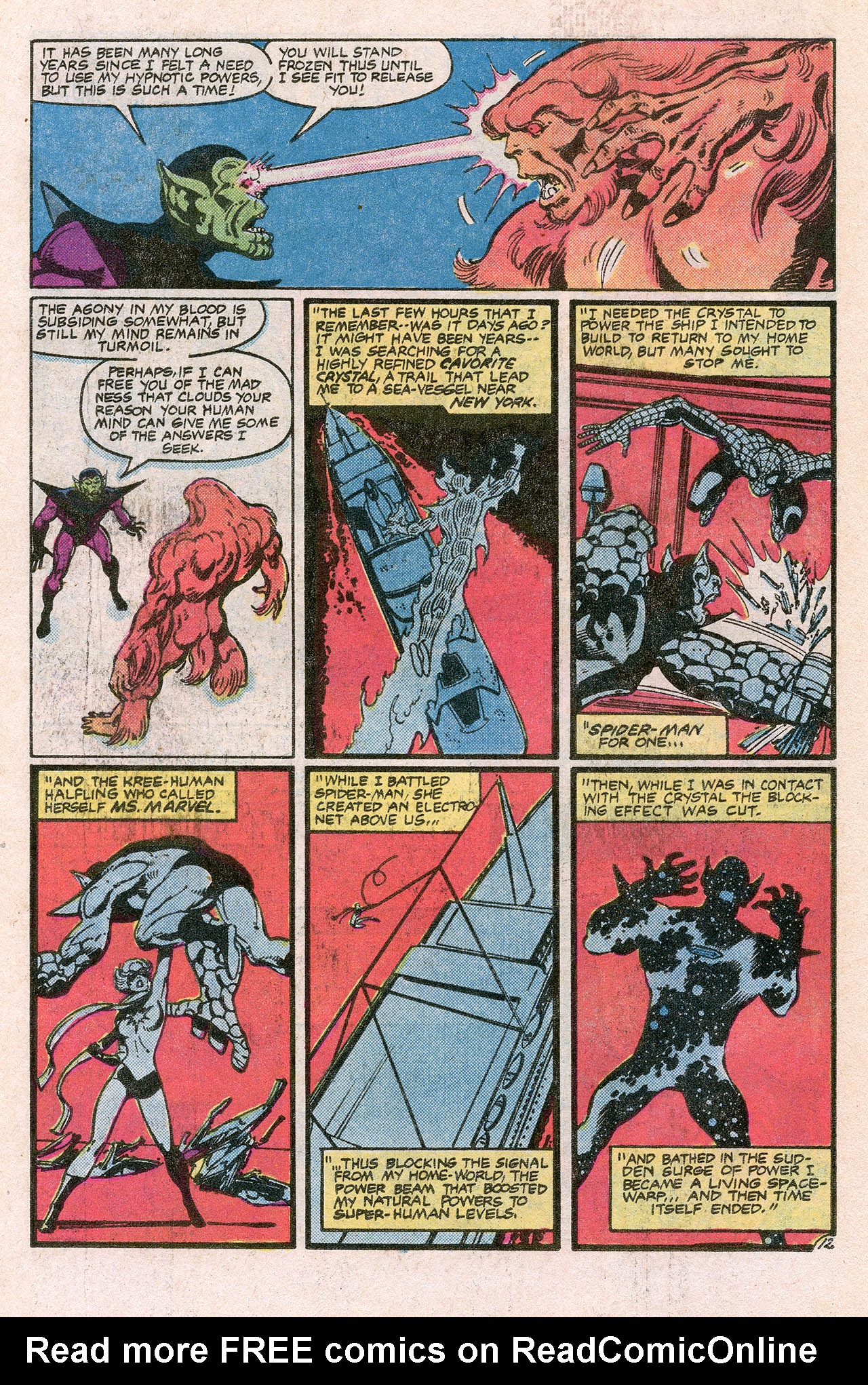 Read online Alpha Flight (1983) comic -  Issue #10 - 18