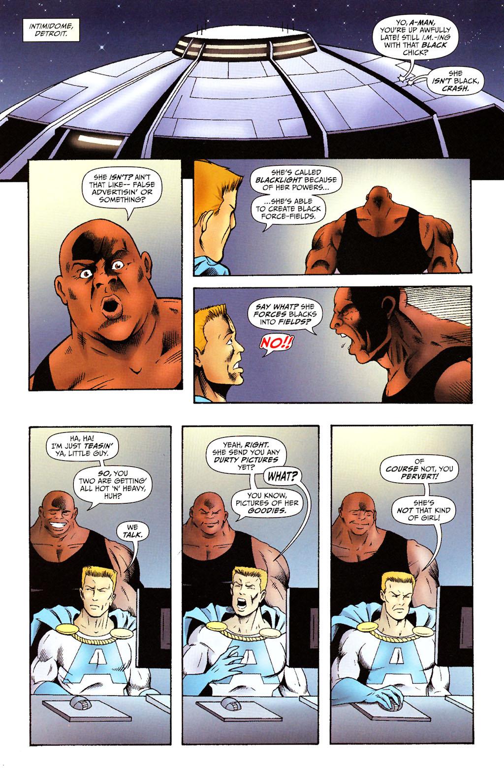 Read online ShadowHawk (2005) comic -  Issue #15 - 10